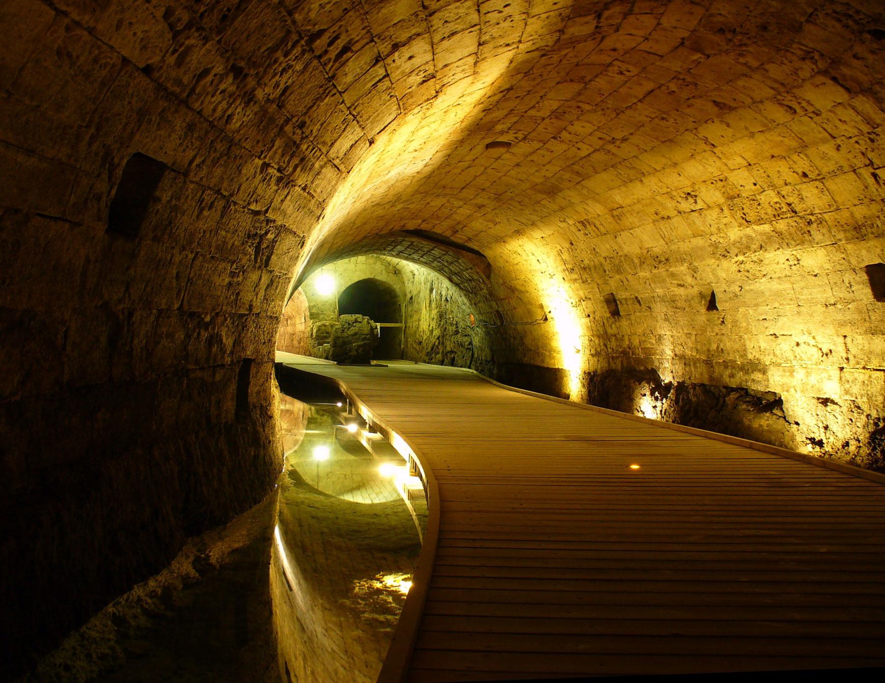 Akko's Crusader tunnel