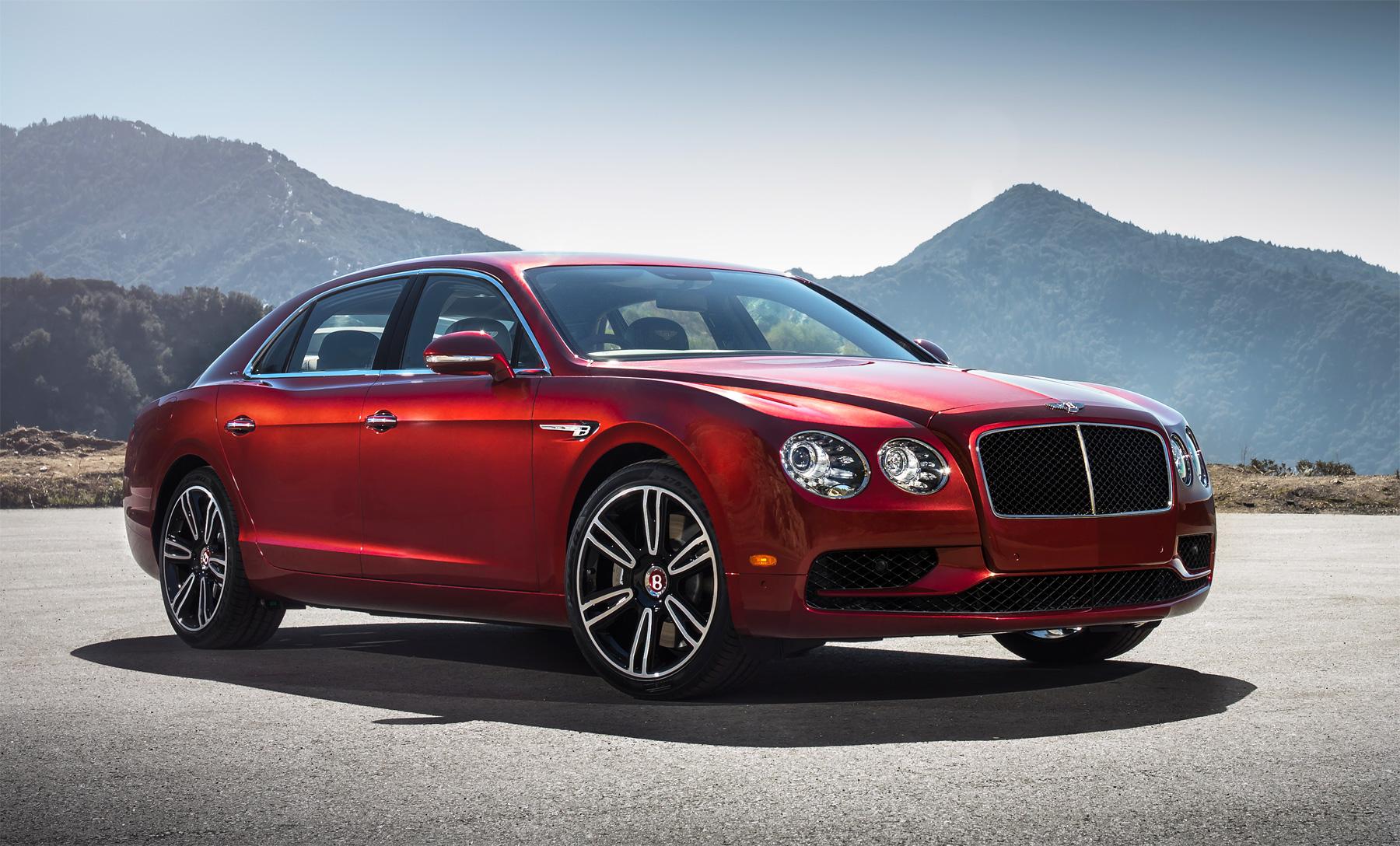 Bentley Motors Flying Spur V8 S – The Sporting Side of Luxury