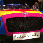 Bentley unveils new Pop Art Bentley V8 by artist Sir Peter Blake 3