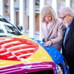 Bentley unveils new Pop Art Bentley V8 by artist Sir Peter Blake 4
