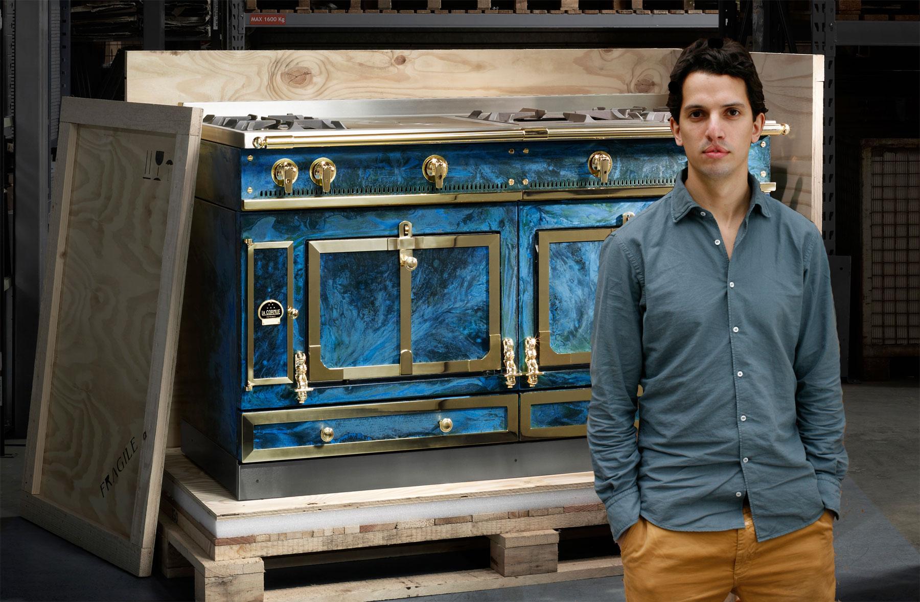 La Cornue Introduces An Artistic Touch With The Château 150 Lex Pott edition