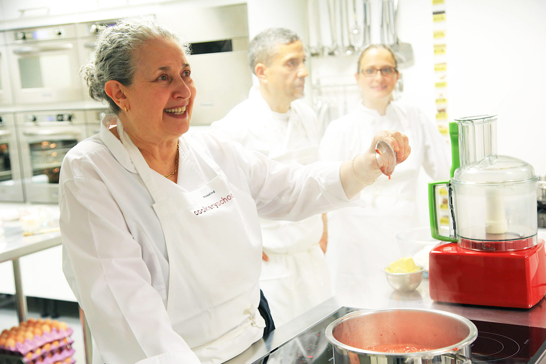 rosalind rathouse of the cookery school at little portland