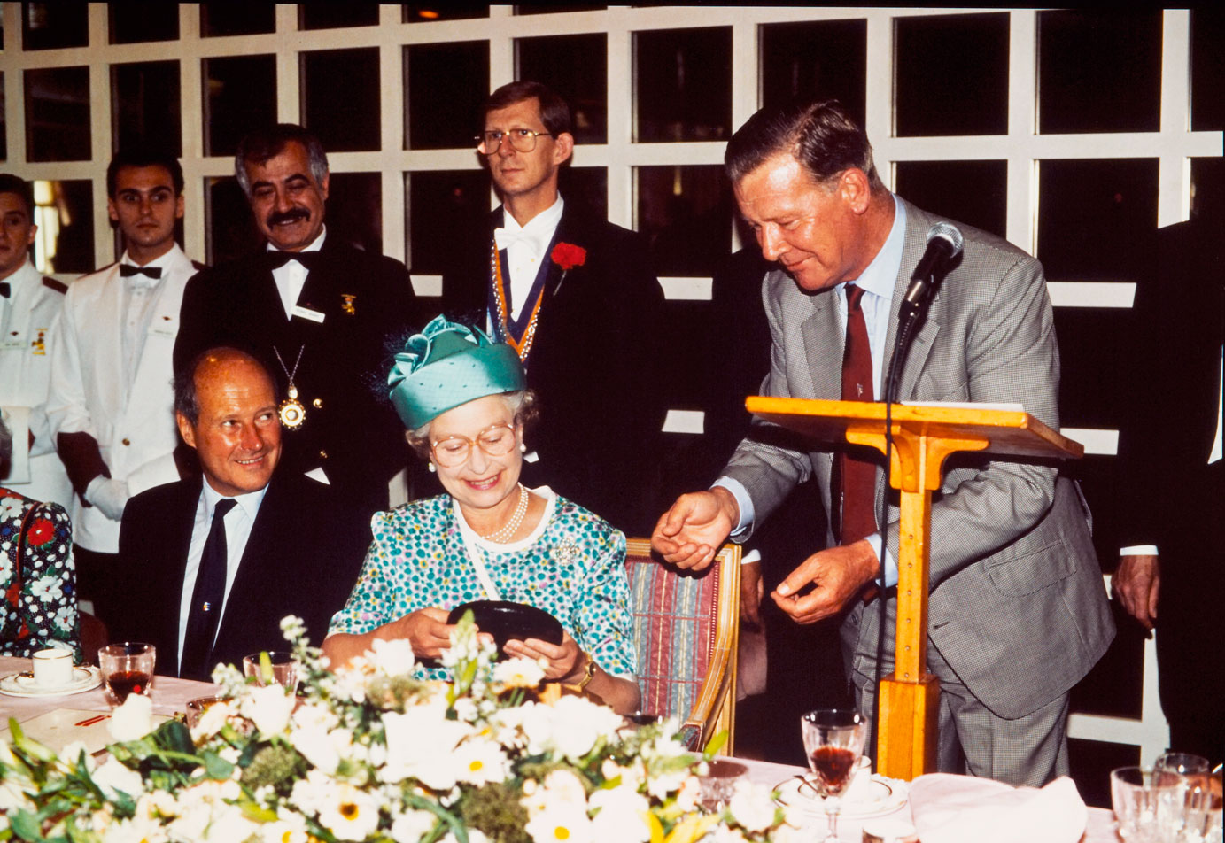 Cunard's 150th Anniversary – Friday 27 July 1990