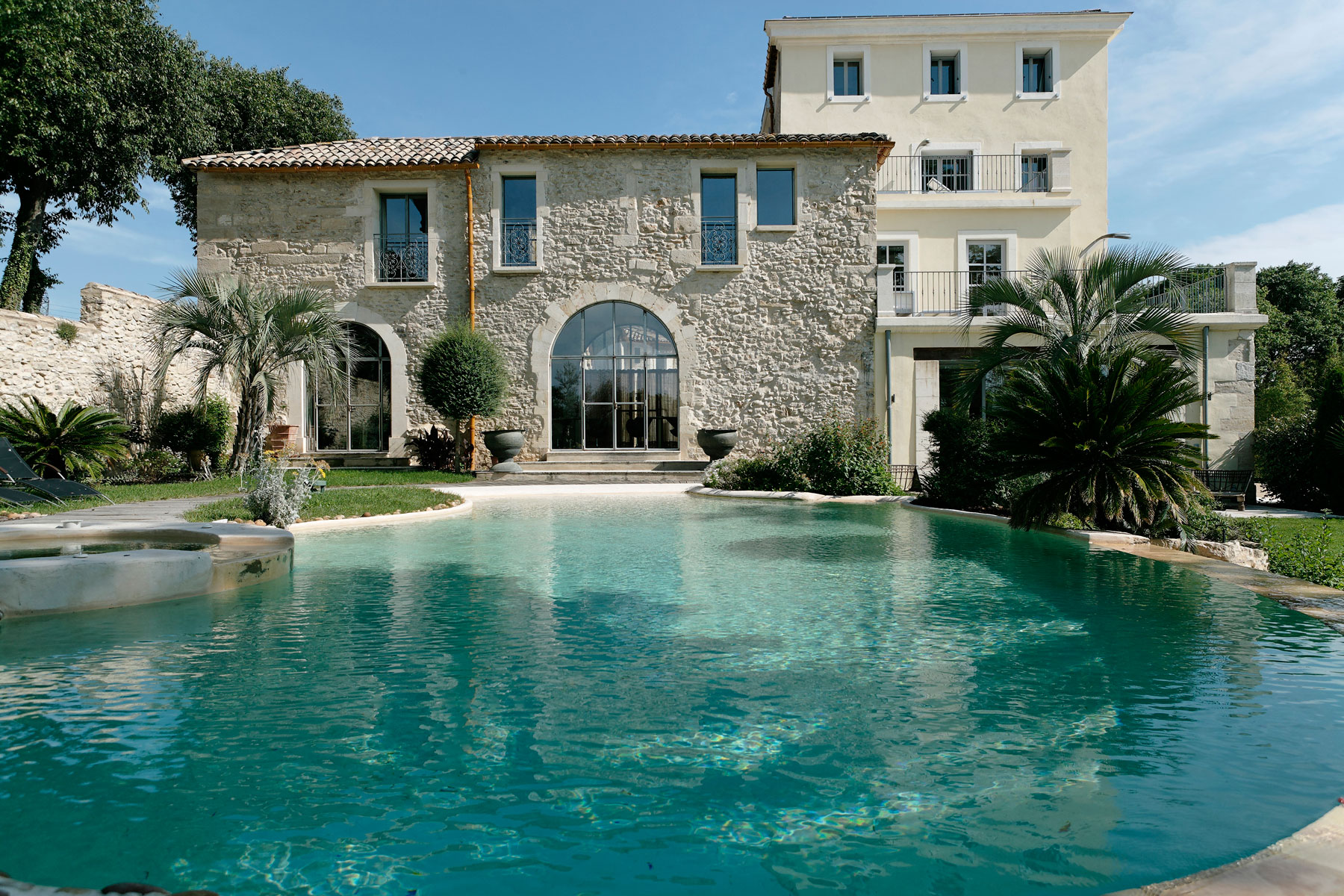 Domaine de Verchant is a luxury vineyard hotel located a short 15 minute drive from Montpellier airport