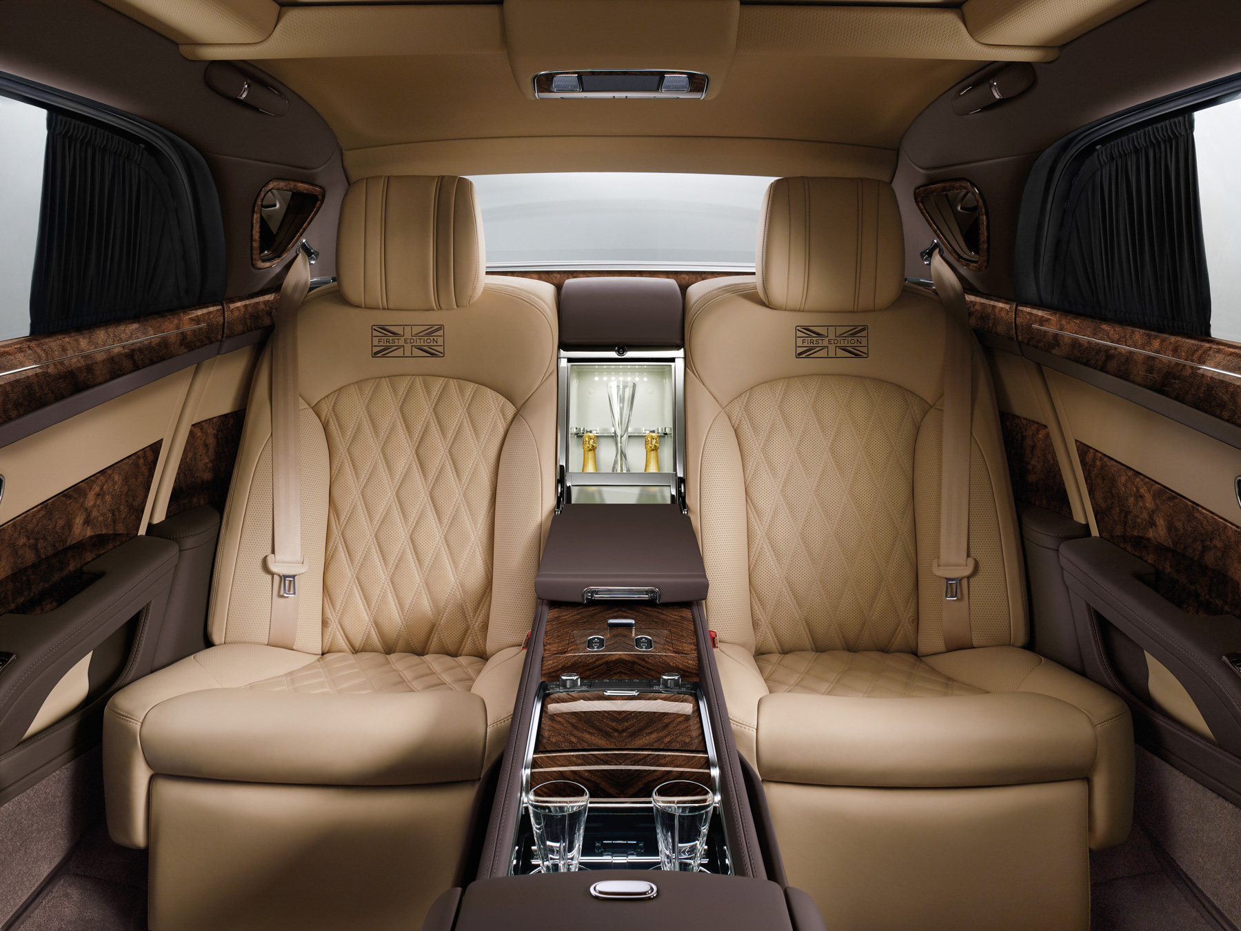 The incredible interior of the Bentley Mulsanne Extended Wheelbase