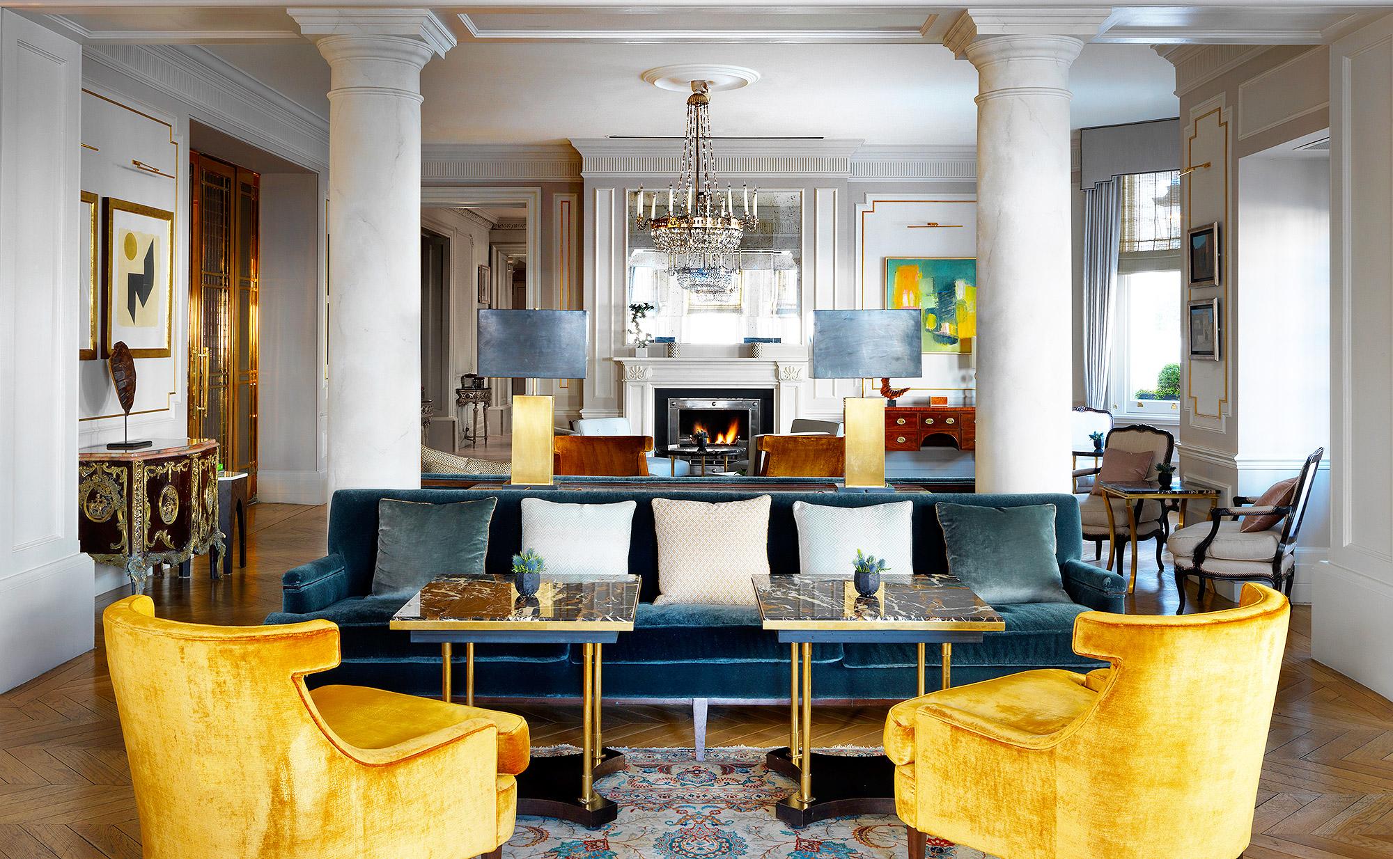 Drawing Room at The Kensington Hotel, London