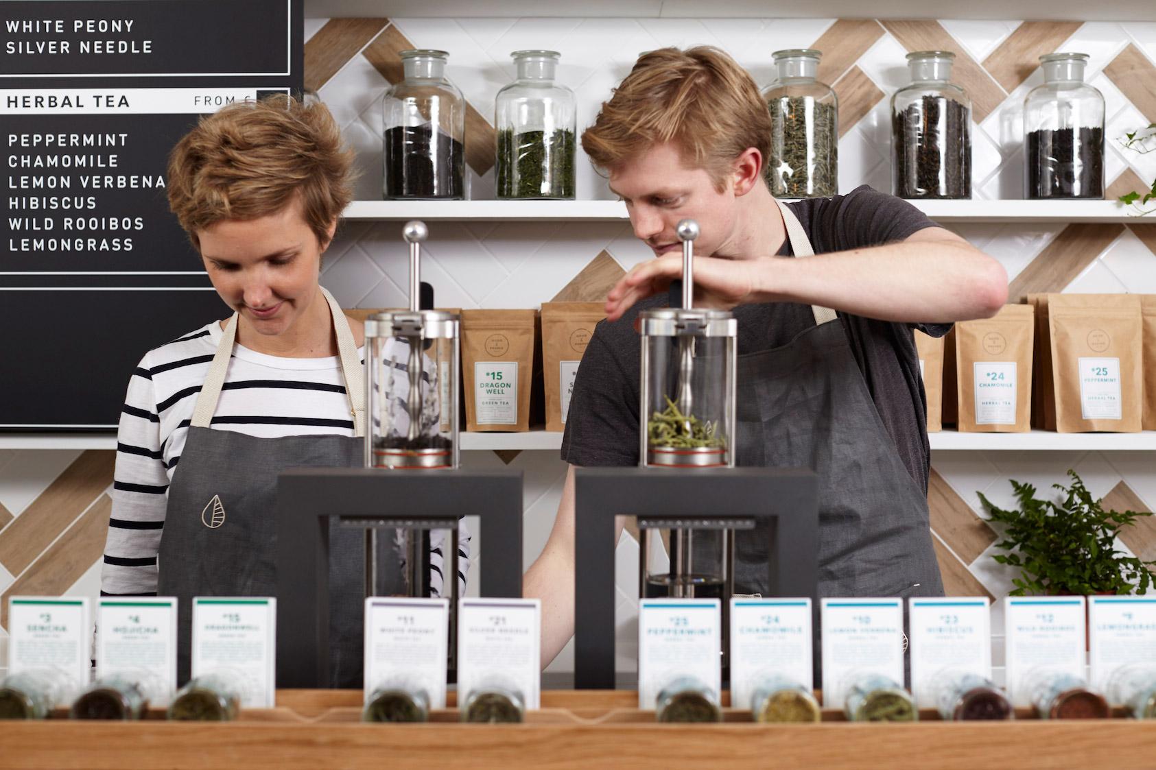 On 7th April, loose-leaf tea gurus Good & Proper Tea, will open their second artisan tea room on Leather Lane.