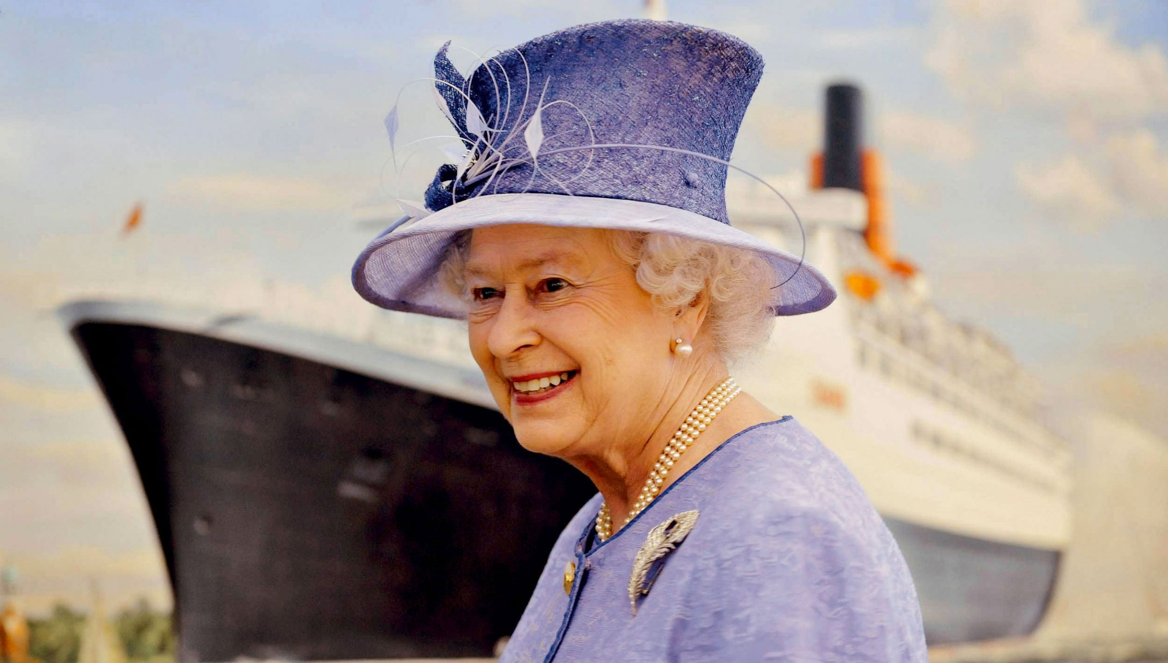 Cunard celebrates many happy returns of The Queen