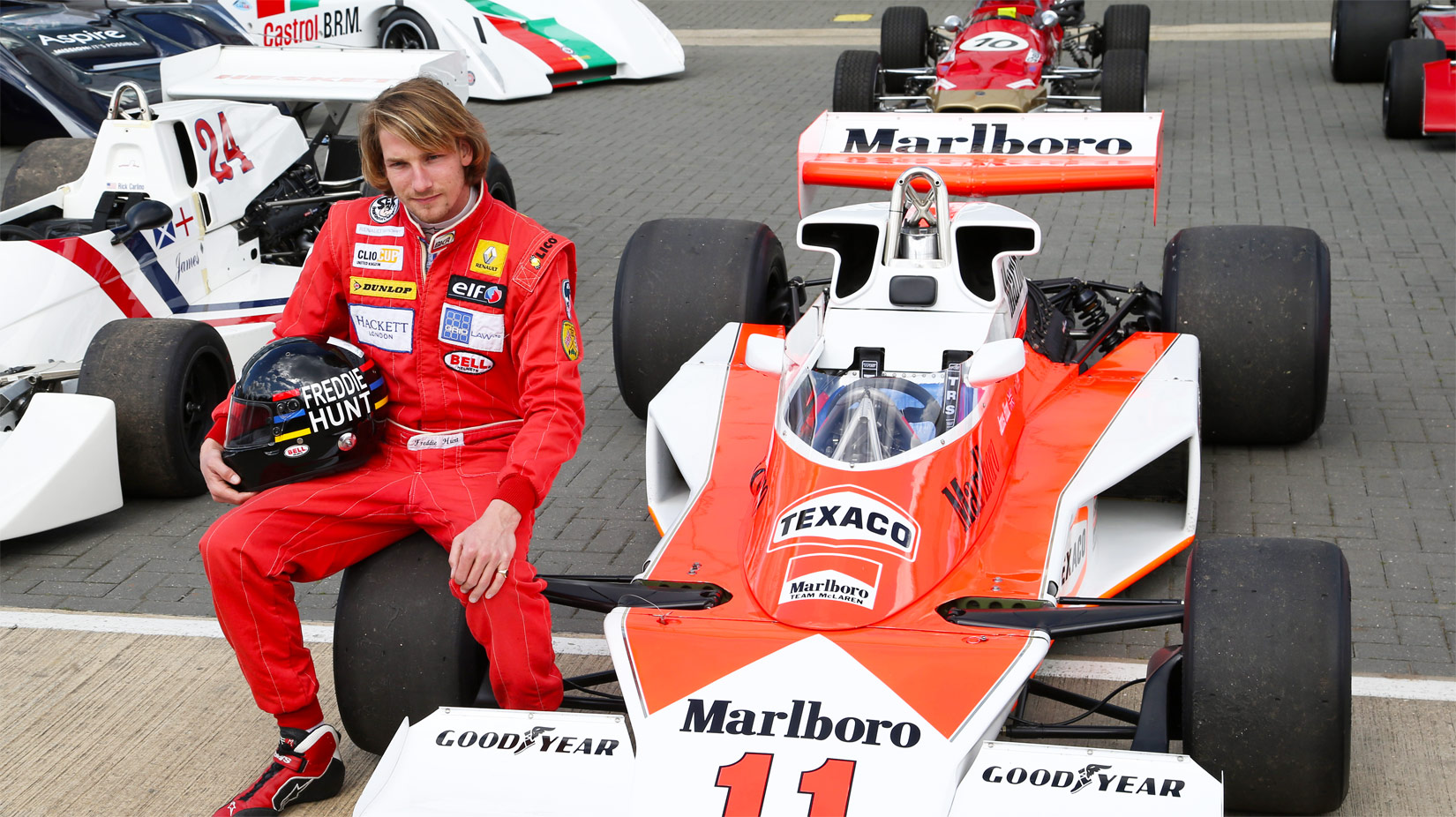 Silverstone Classic 2016 To Pay Homage To James Hunt's 1976 F1 Title