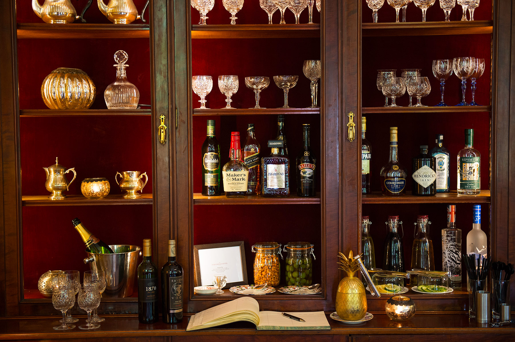 The Honesty Bar at the Portobello Hotel in Notting Hill
