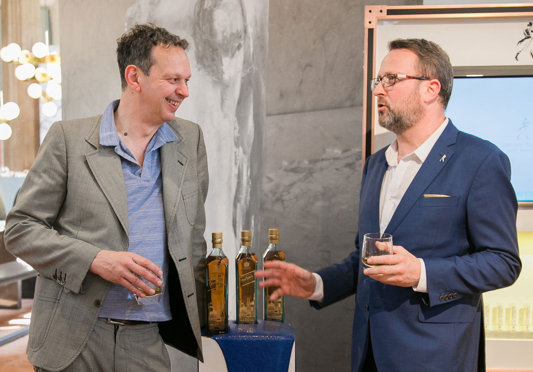 Tom Dixon, OBE And Johnnie Walker Unite In Milan