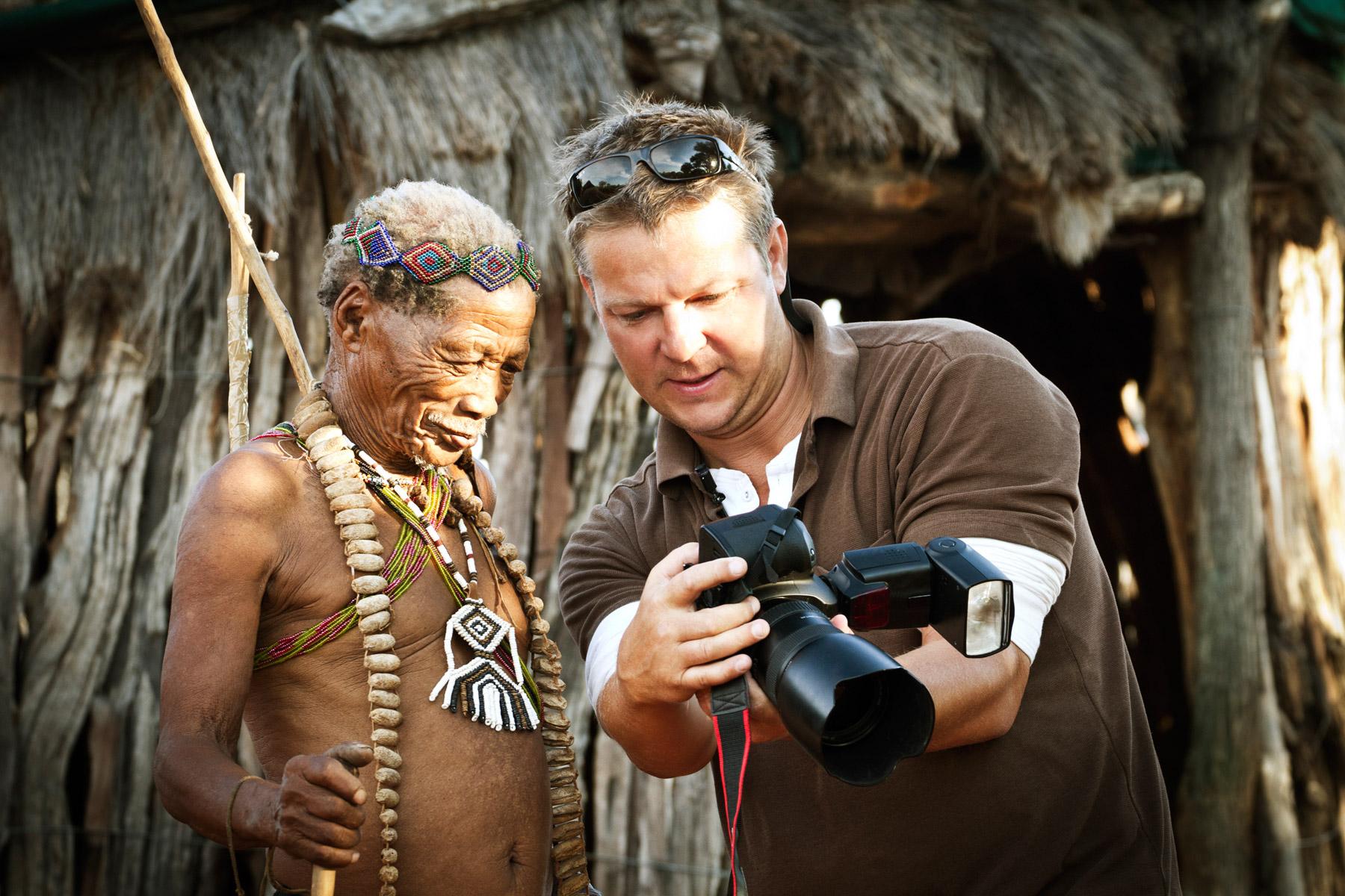 Luxury African Photo Safaris with Fine Art Photographer Klaus Tiedge