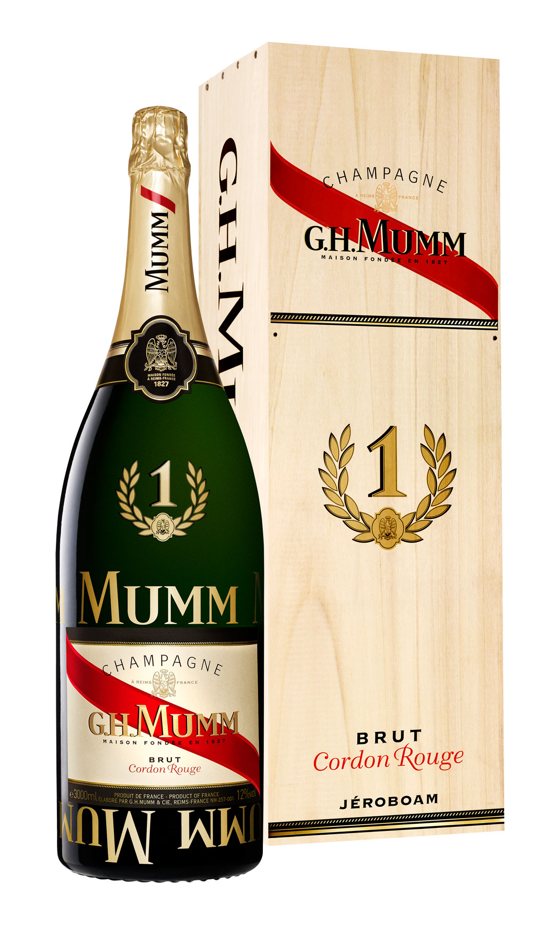 The Limited Edition Mumm Champagne No1 Jeroboam