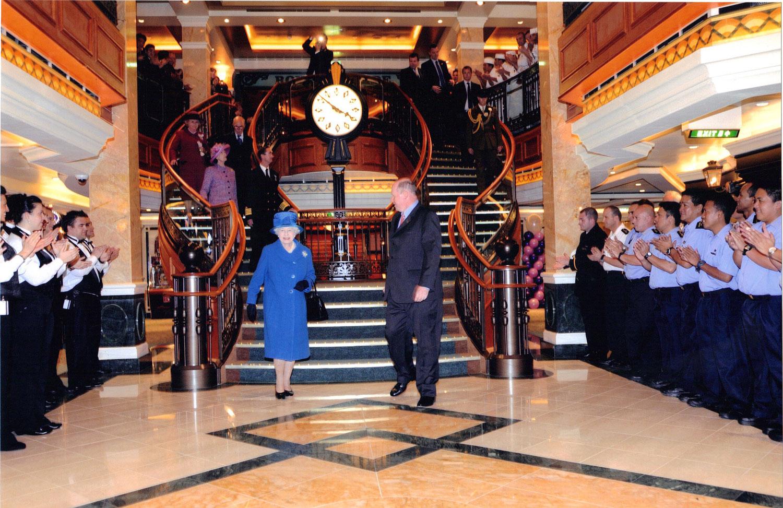 Naming Queen Elizabeth – Monday 11 October 2010