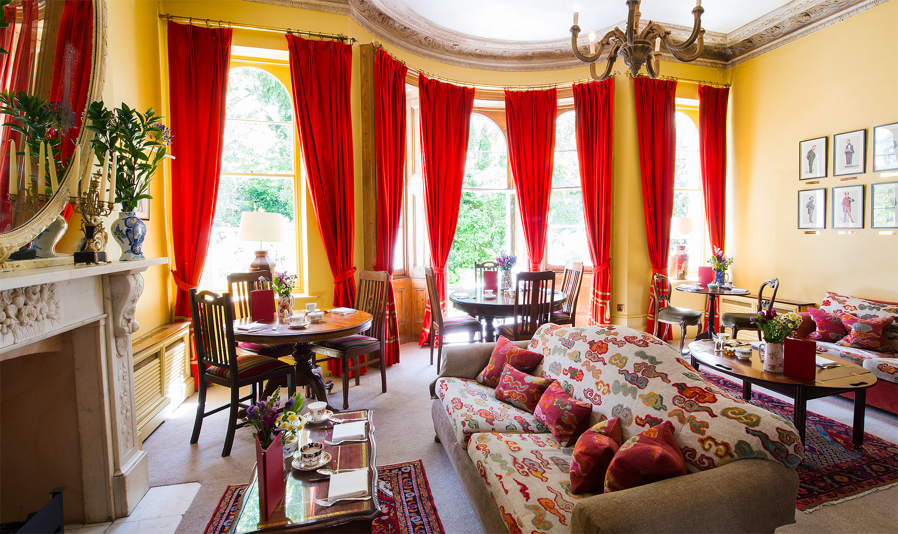 The Portobello Hotel's Drawing Room