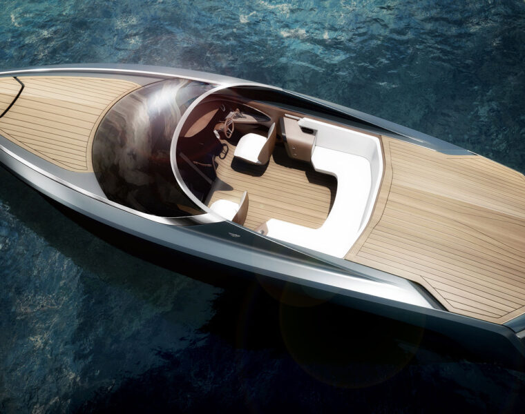 Quintessence Yachts and Aston Martin AM37
