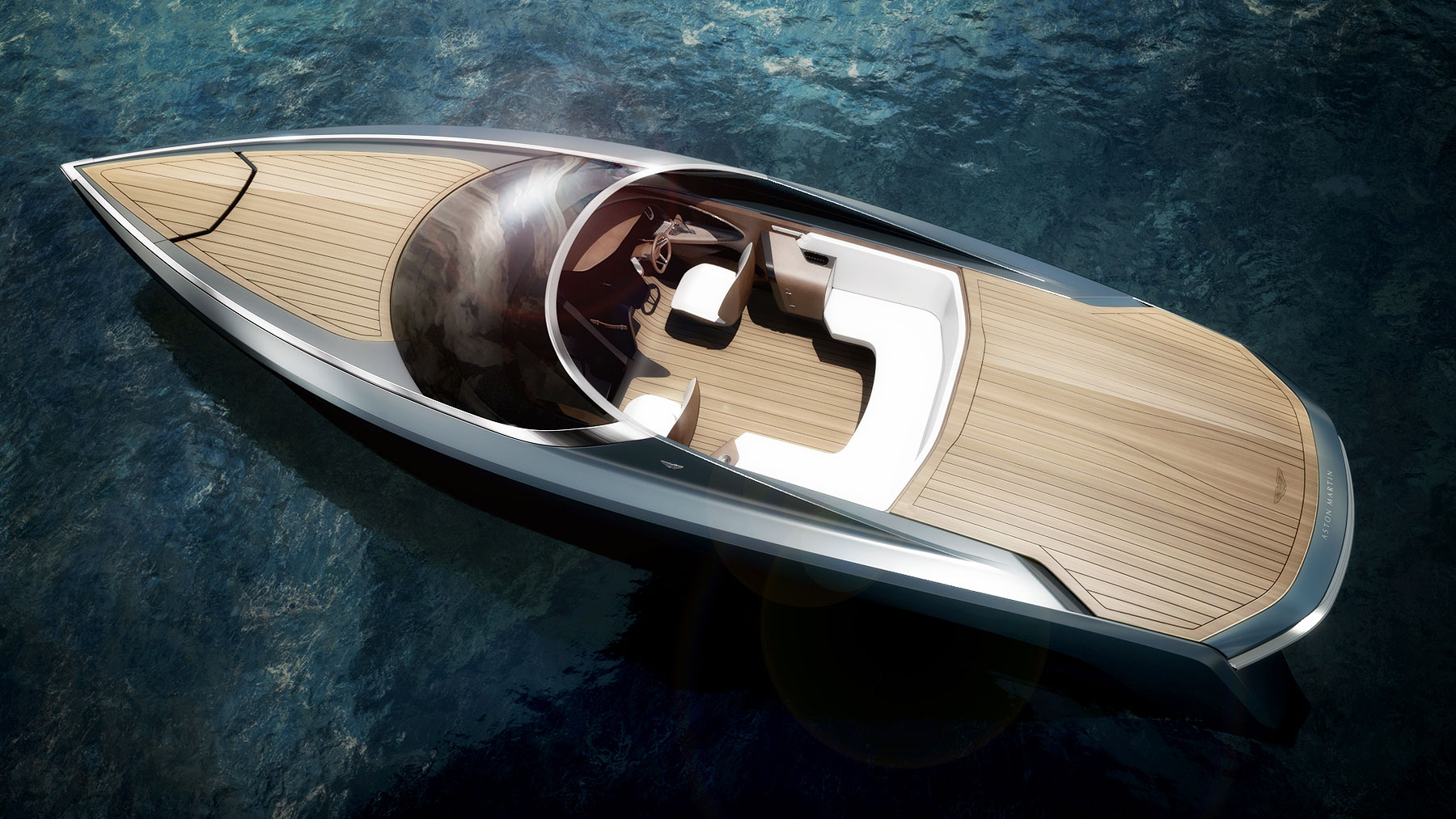 AM37 – First powerboat developed by Aston Martin and Quintessence Yachts