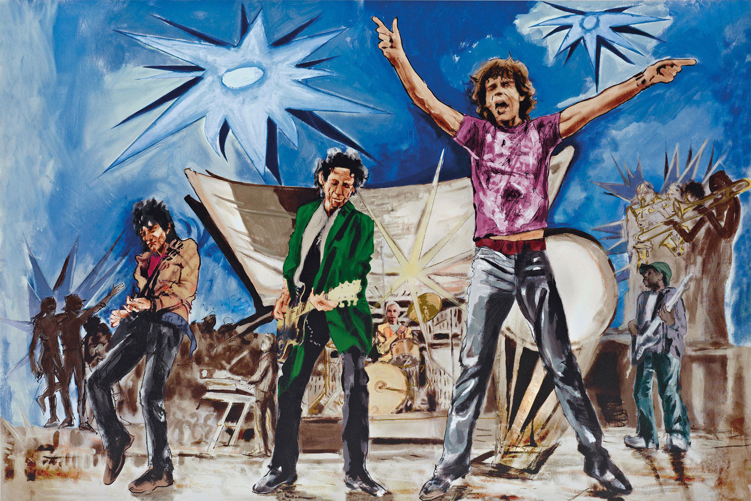 Ronnie Wood 'Big Bang Blue'