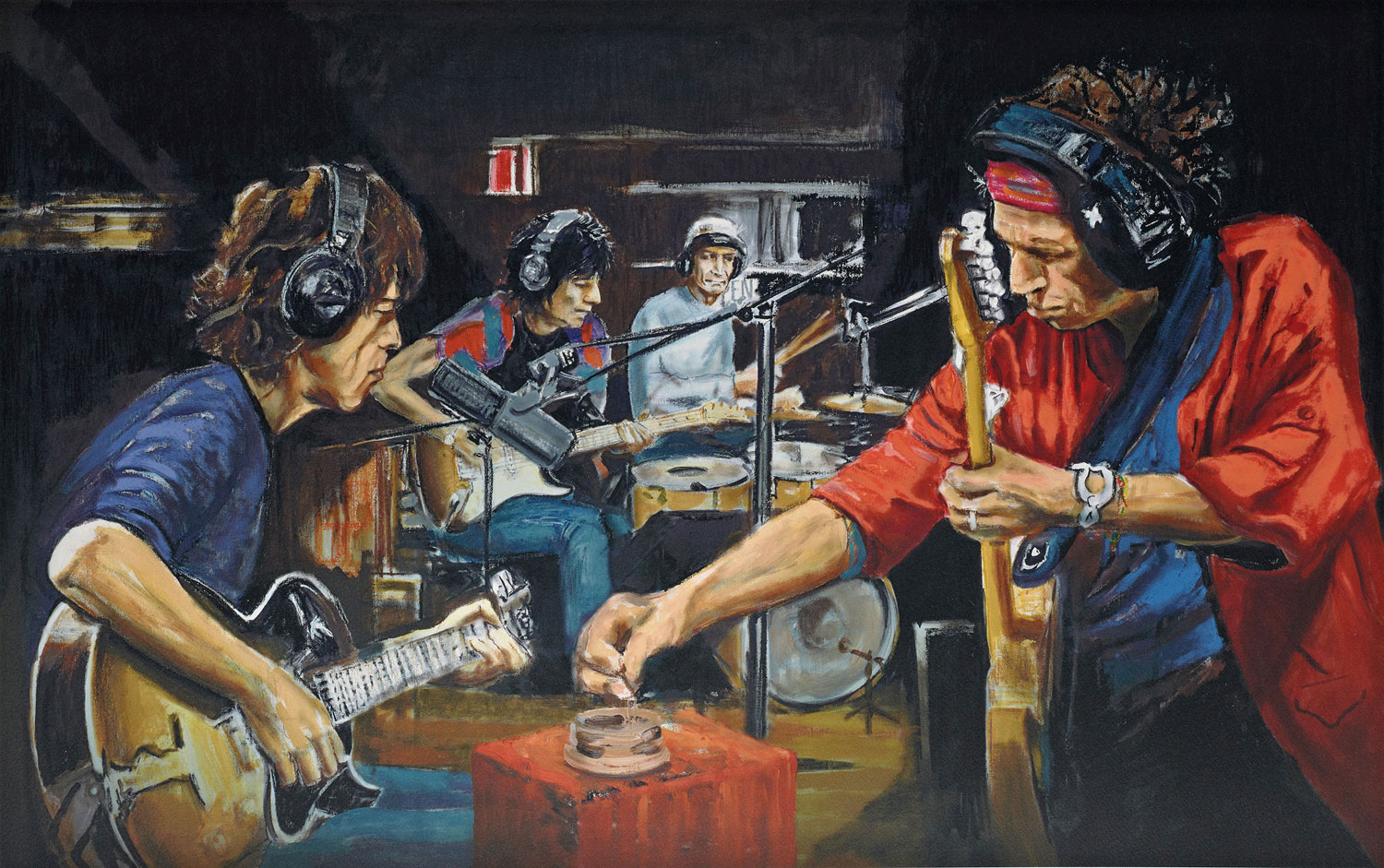 Ronnie Wood 'Conversation Piece'