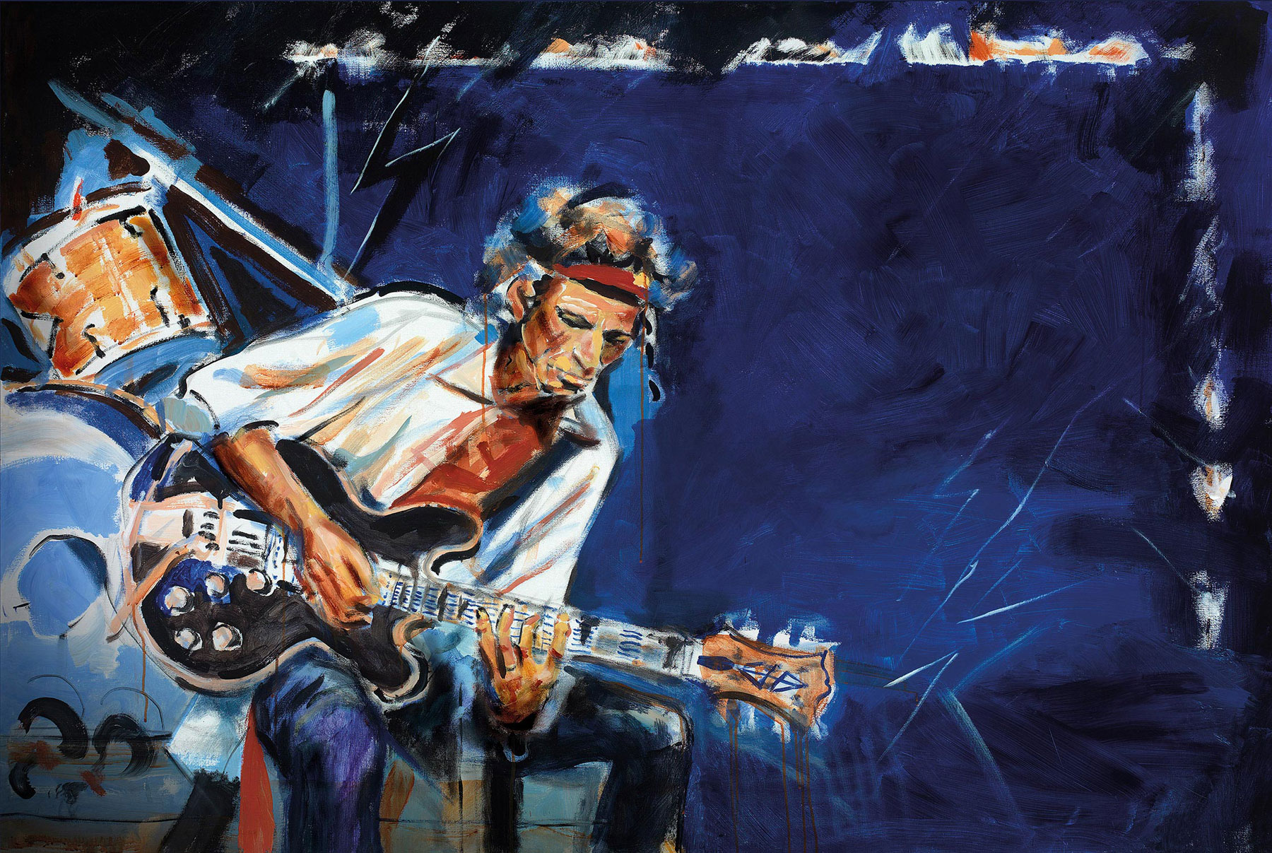 Ronnie Wood's 'Private Collection' Gives Public Chance To Own Rock History