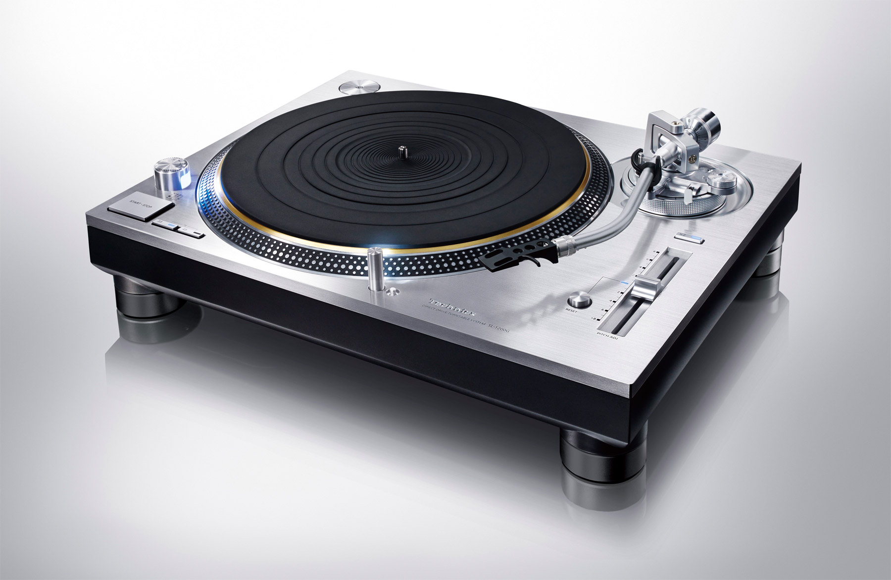 The Technics Grand Class Direct Drive Turntable System SL-1200G
