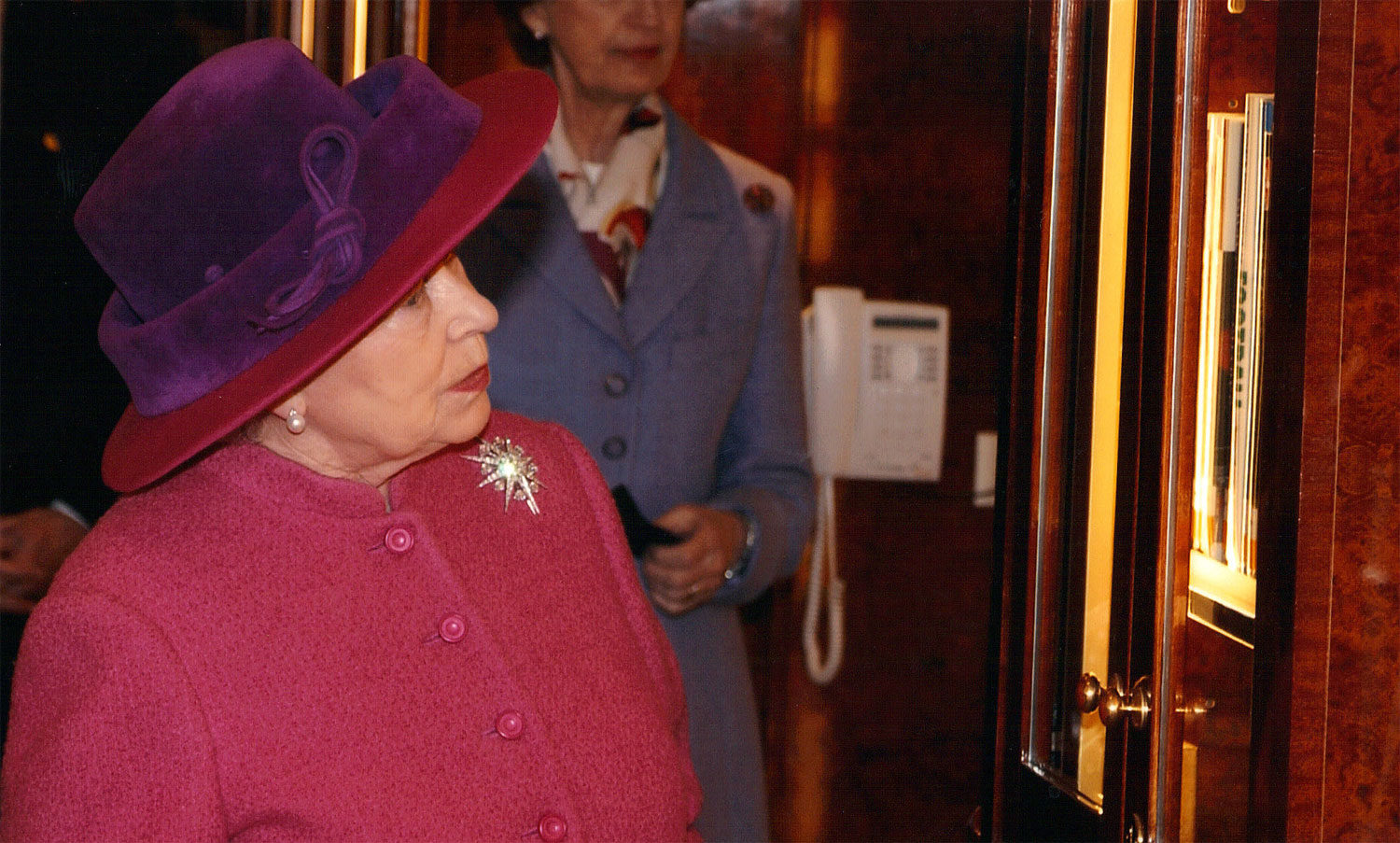 The Naming of Queen Mary 2 – Thursday 8 January 2004