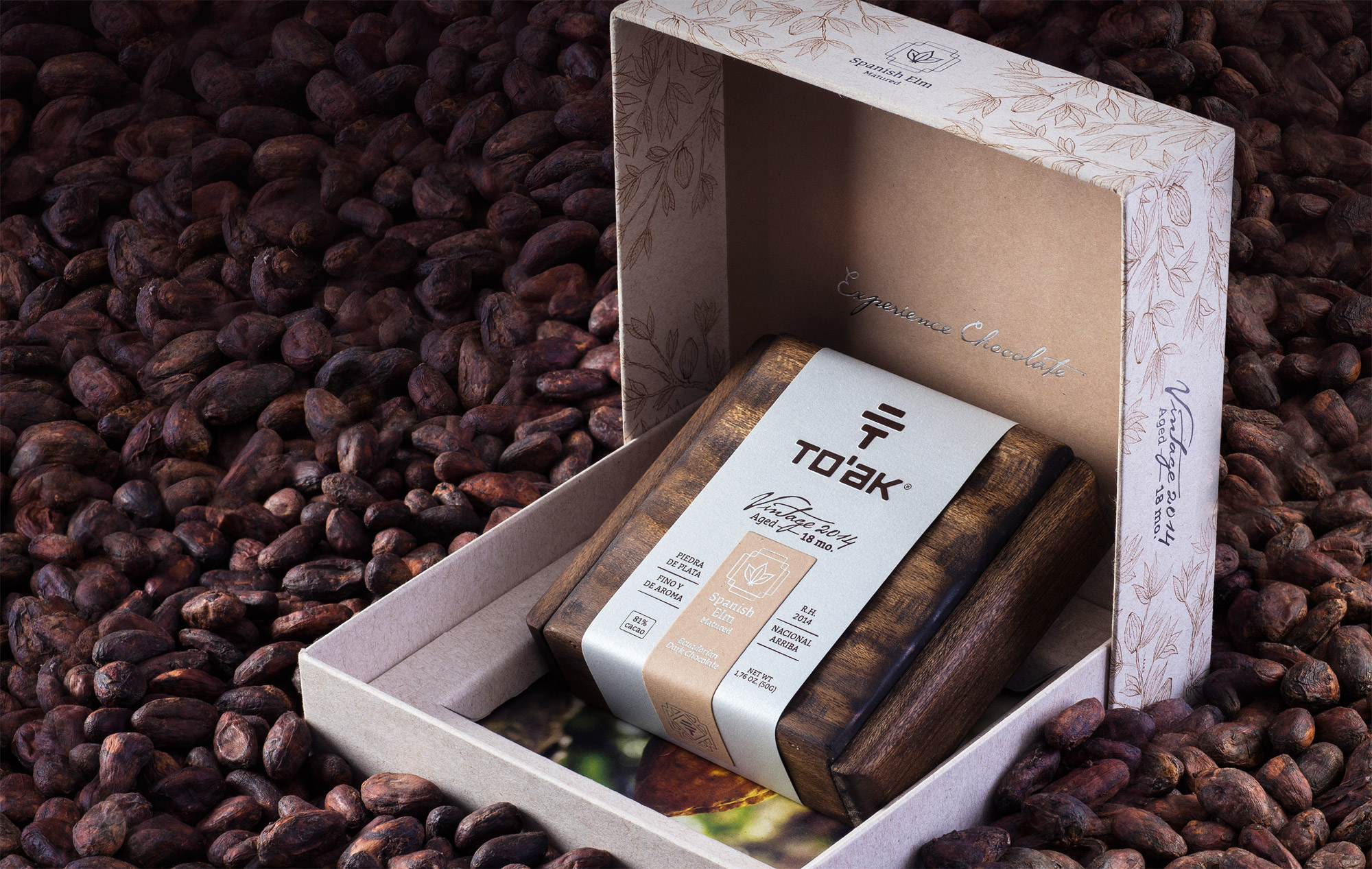 To'ak Chocolate Unveil World's First Vintage Dark Chocolate Bar