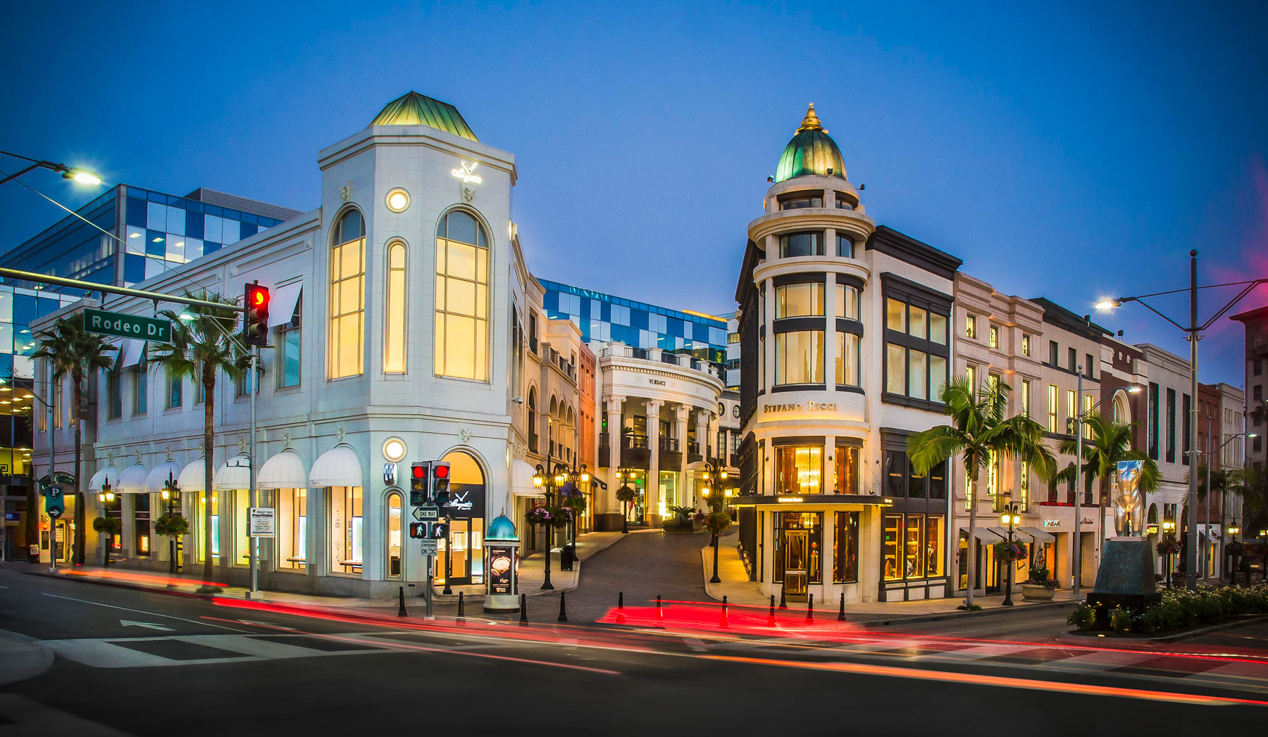 Rodeo Drive and Dayton Way intersection in Beverly Hills
