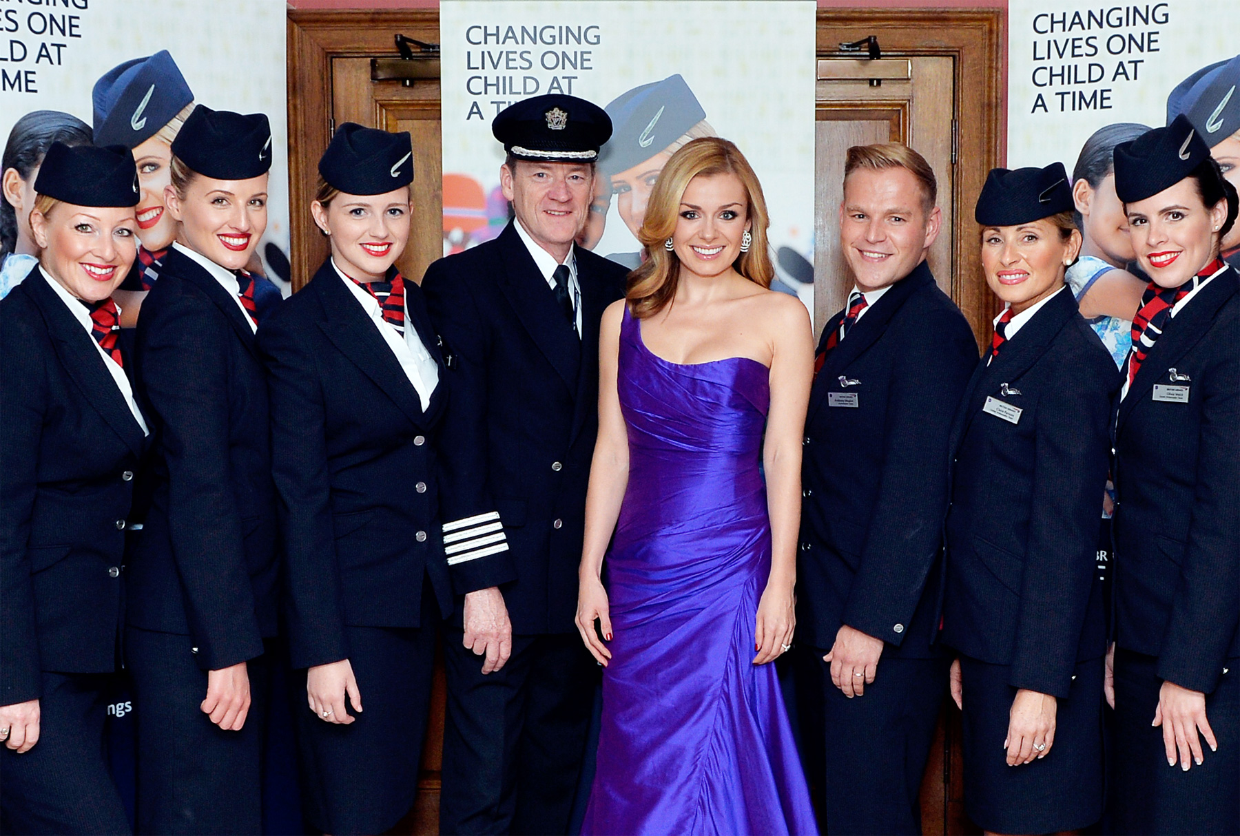 Well Known Faces Support The British Airways' twelfth annual Wentworth Ball