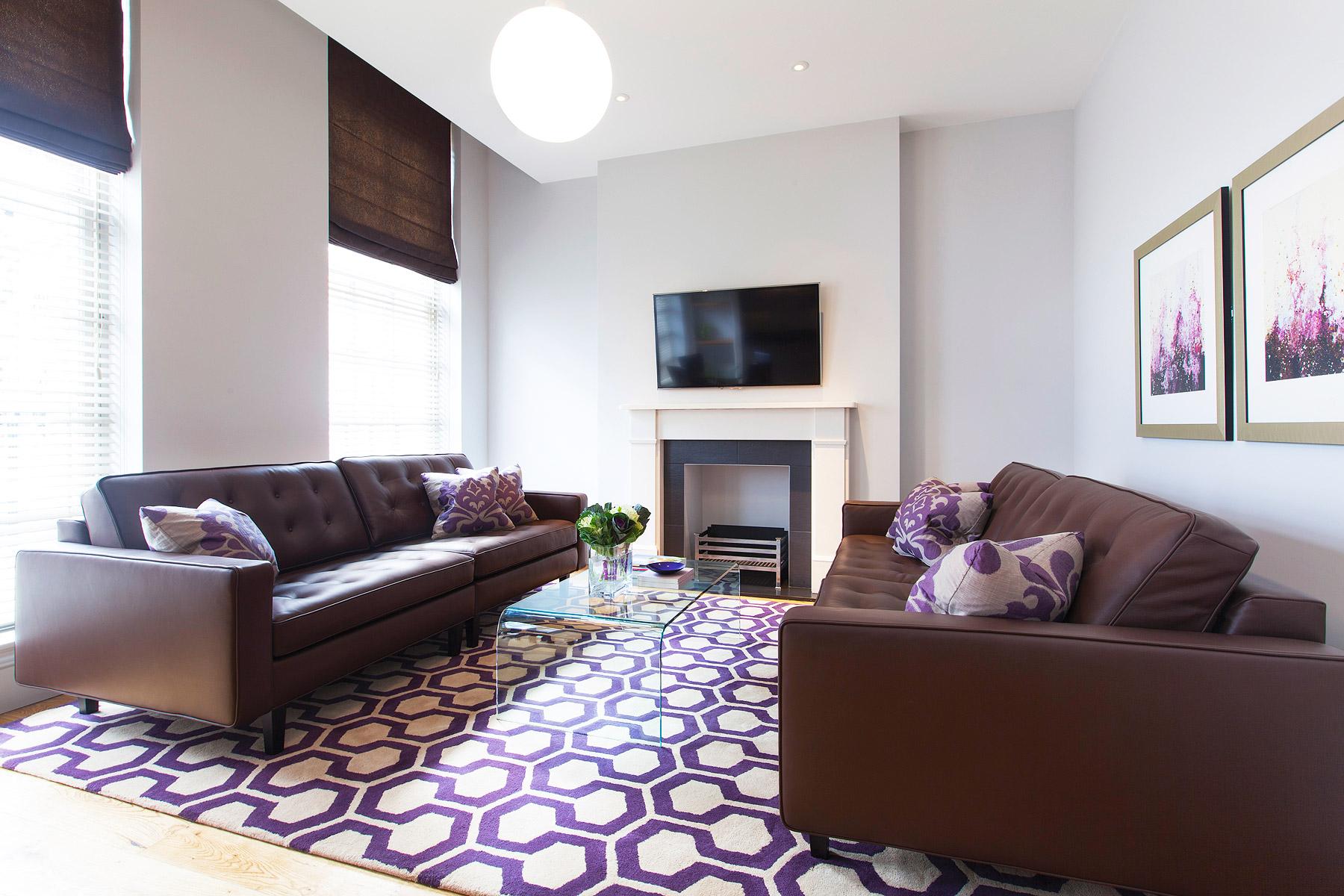 The Aubergine Living Room At Aka Marylebone