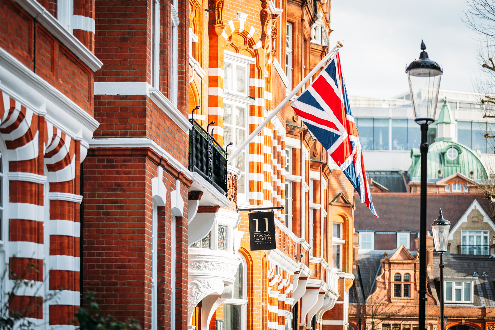 Modern day majesty at 11 cadogan gardens in london for Modern hotels in london