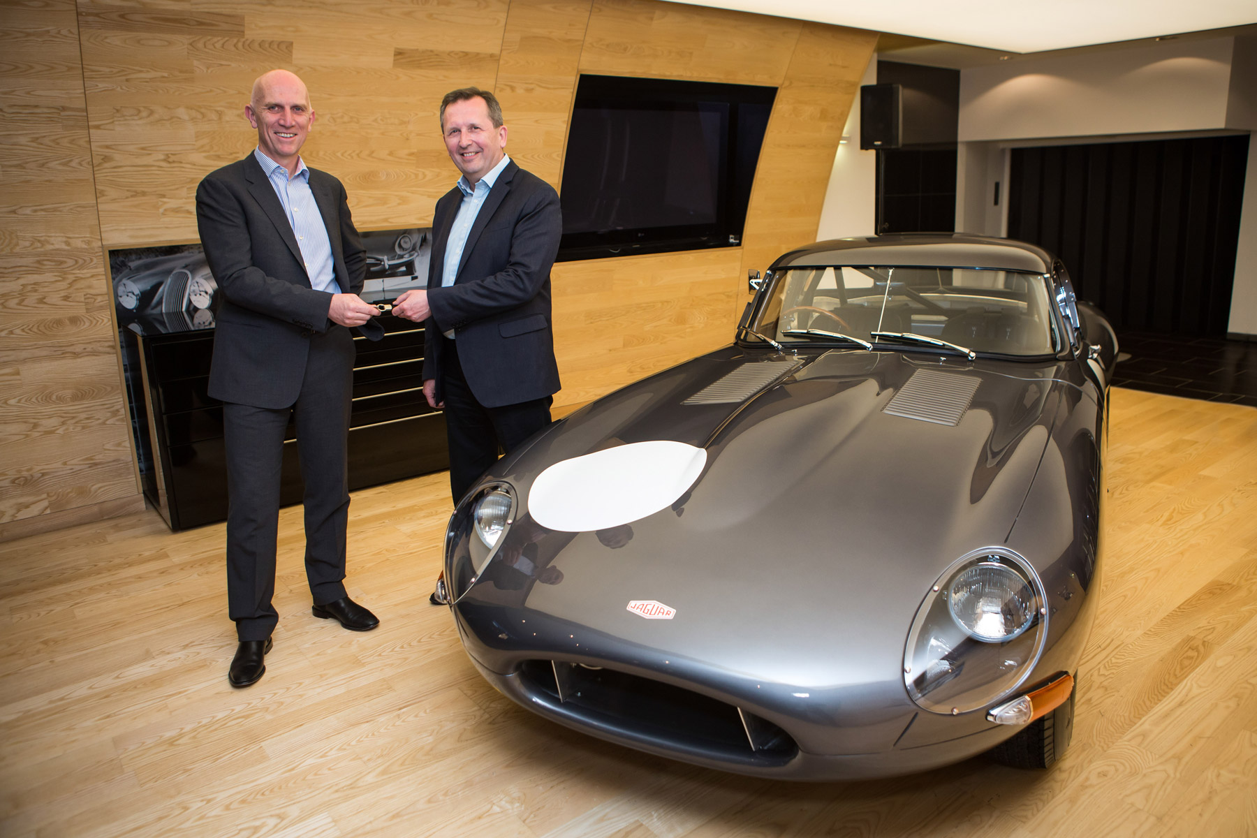 2015 Jaguar Lightweight E-type Chassis 15 Heads To Stratstone of Mayfair