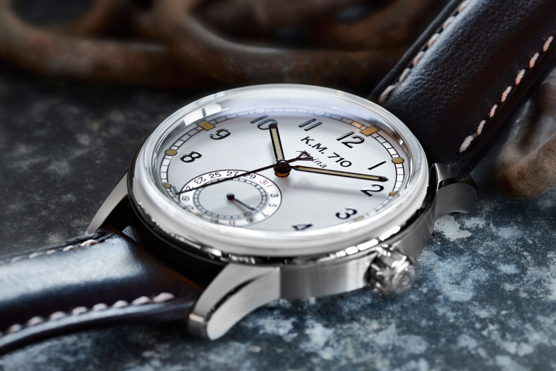 The Alpina KM-710 Wristwatch With In-house AL-710 Automatic Calibre