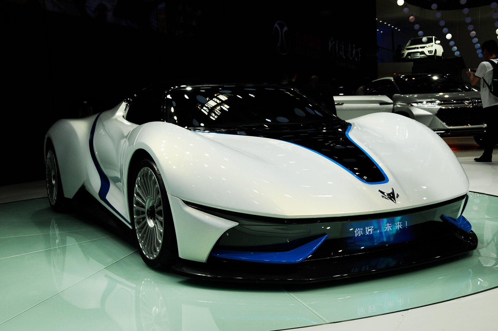 The BAIC Arcfox-7 Electric Supercar, China's Very Pretty Answer To Tesla
