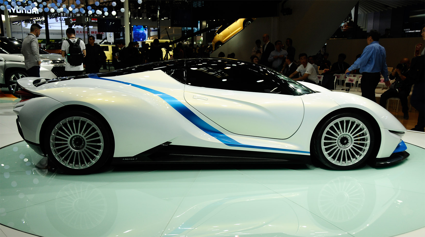 China S Baic Arcfox 7 Electric Supercar The Good And The Bad