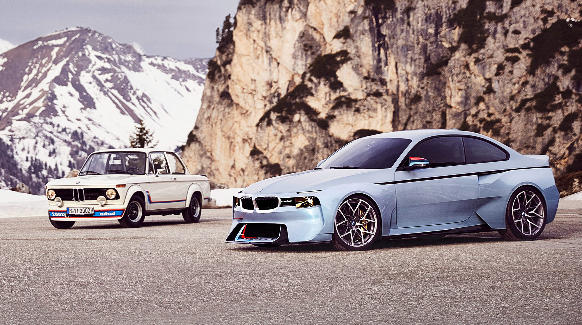 The BMW 2002 Hommage – Celebrating 50 Years Of The 02 Range