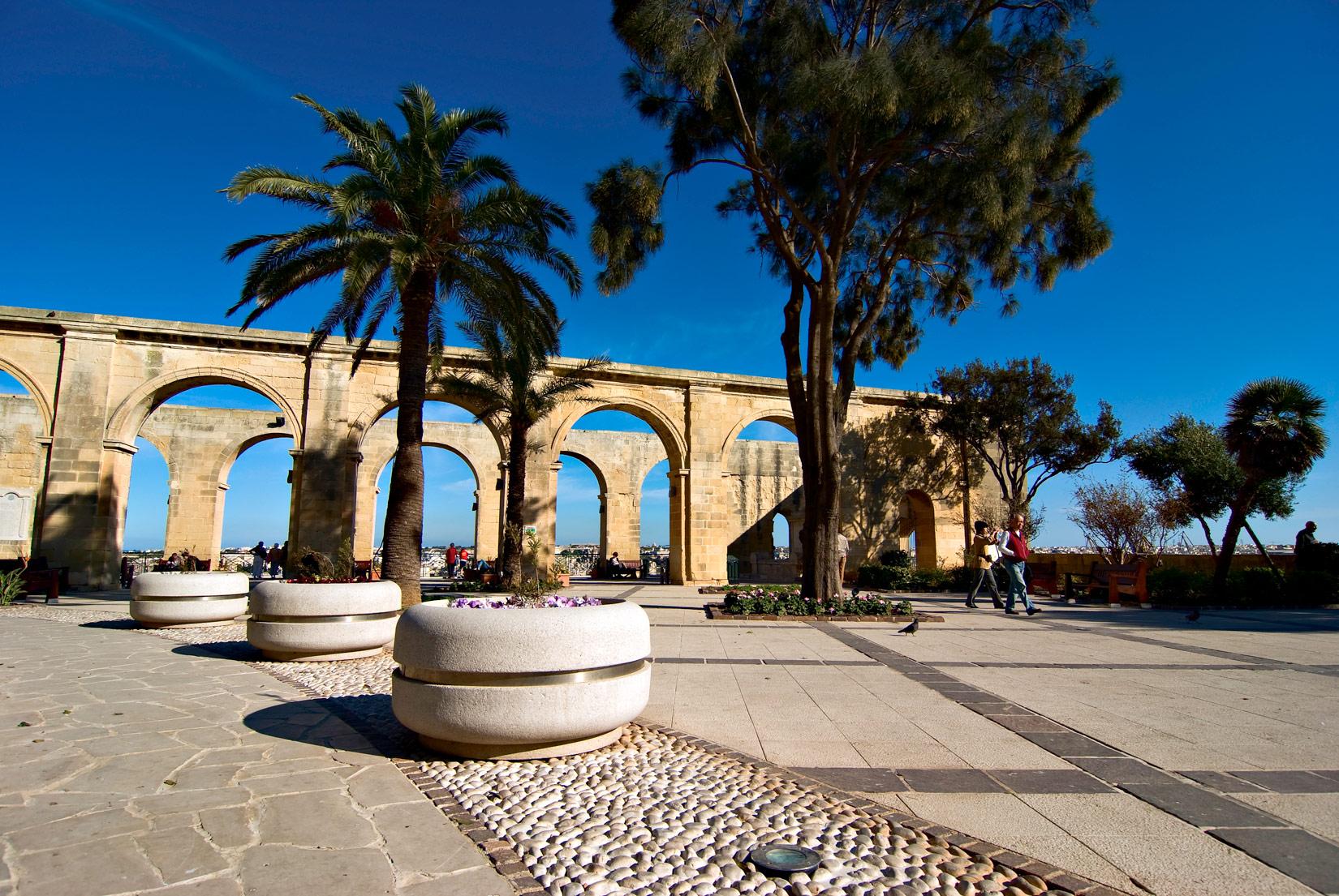 Barrakka Garden Malta