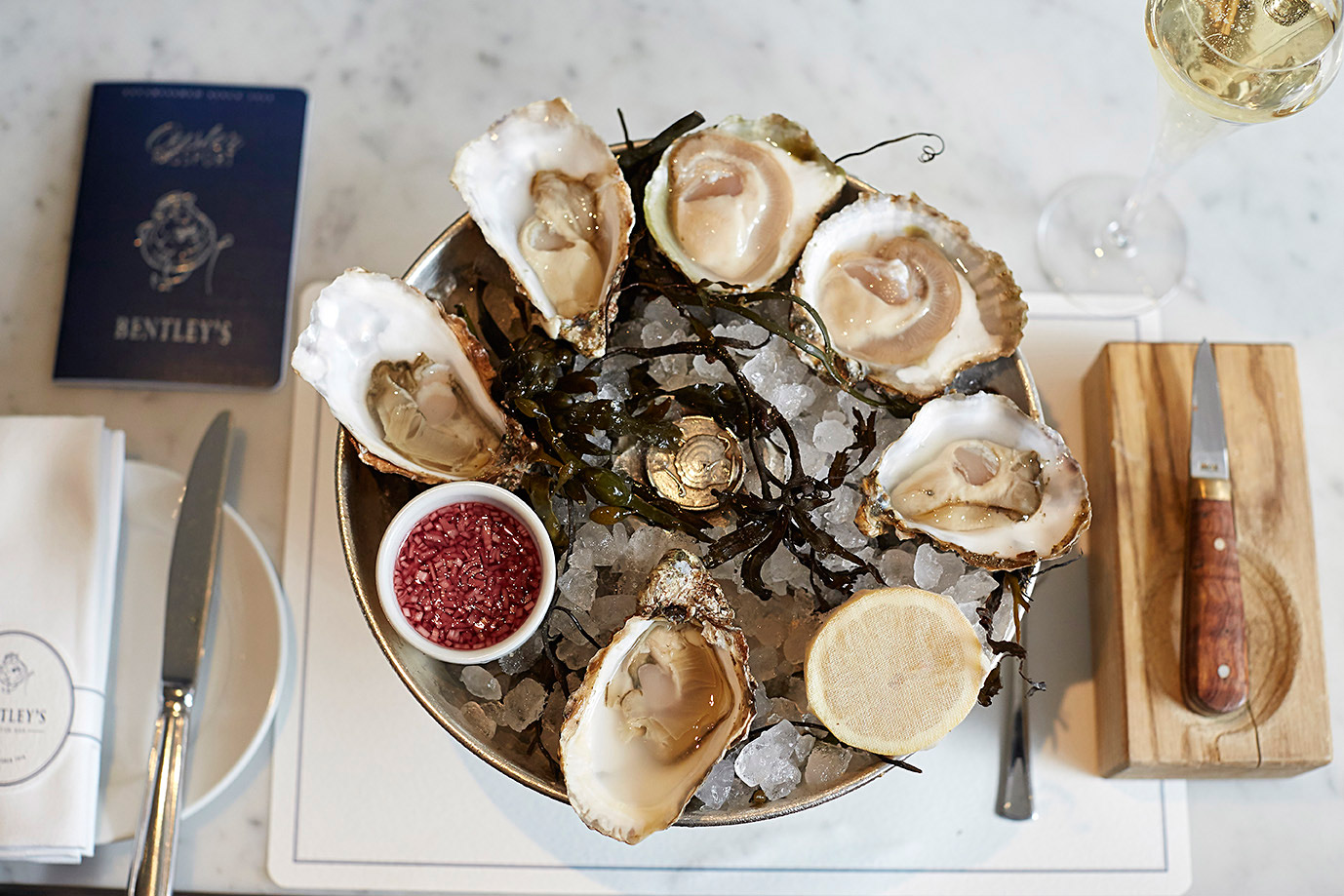 Bentley's Oyster Bar & Grill - 100 Years Of Fizz And Oyster Shucking