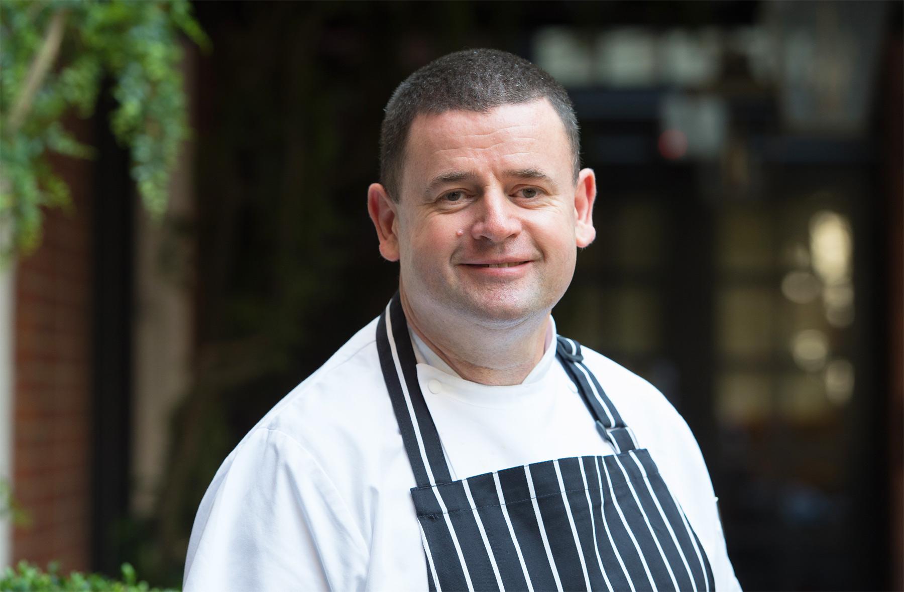 Bloomsbury Hotel's Head Chef Paul O'Brien