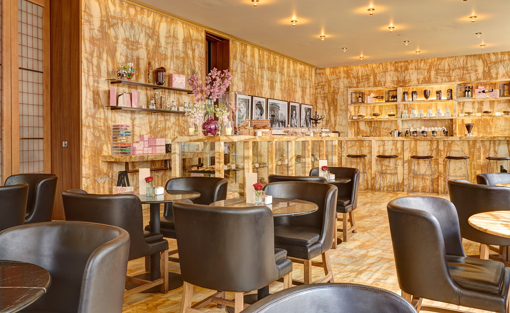 The Café – London's first dessert (only) restaurant – is part of the historic Café Royal hotel built in 1865.