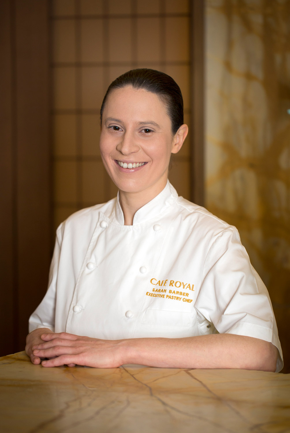 Pastry Chef Sarah Barber
