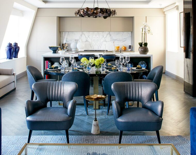 Glitz & Glamour Inspired 1920's Penthouse At London's 12 Charles Street