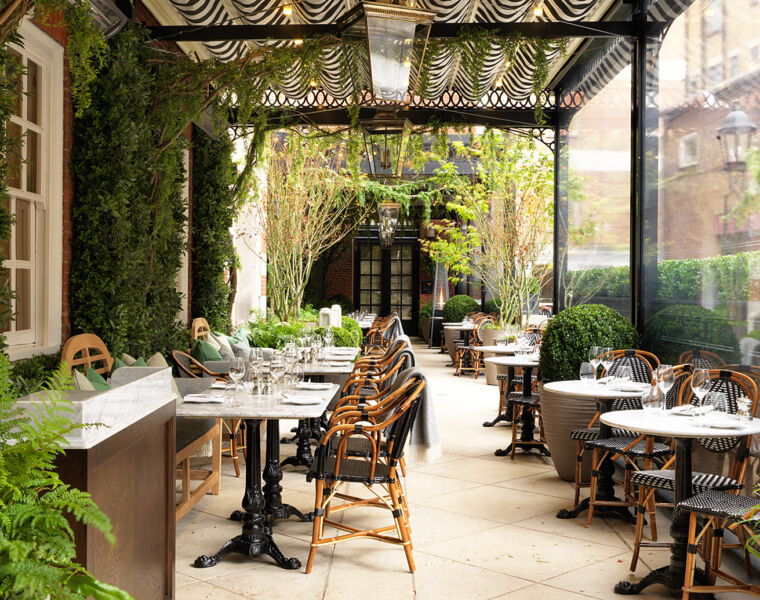 Dalloway Terrace At The Bloomsbury Hotel, London