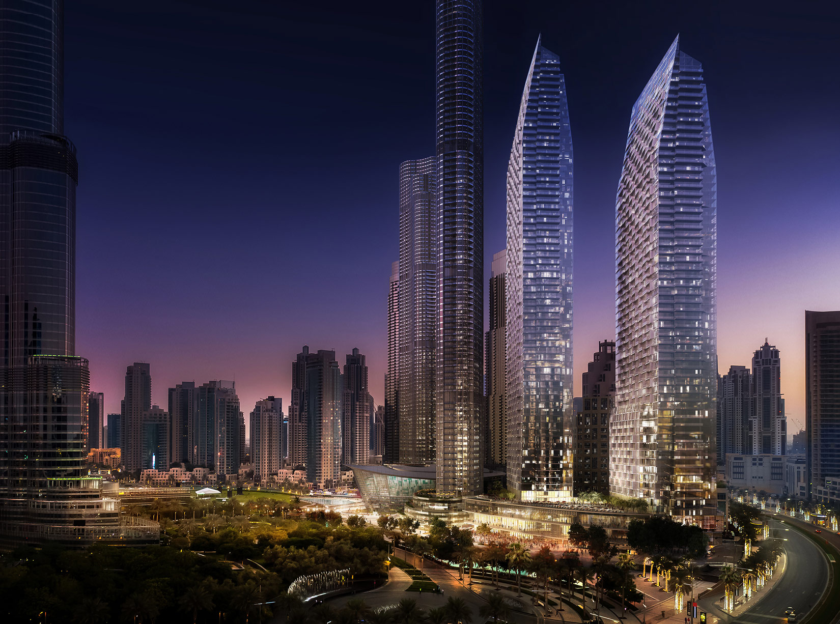 emaar launches dubai s opera district at harrods of london