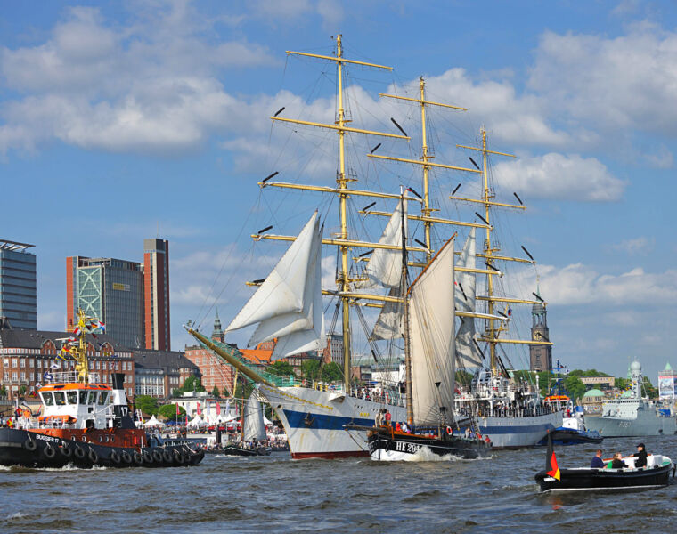 Hamburg To Host The World's Biggest Maritime Festival For The 827th Time