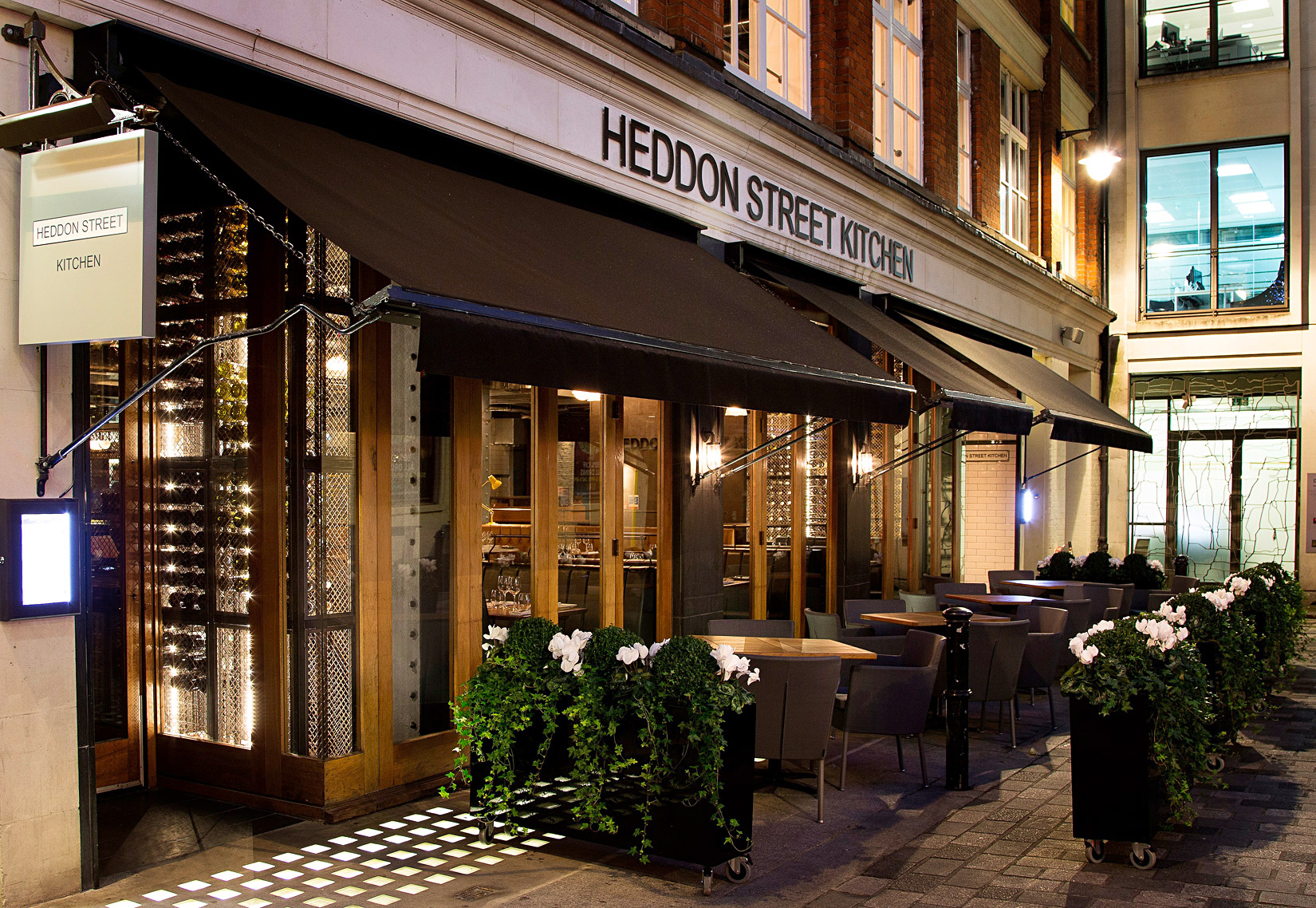 Heddon Street Kitchen - Delightful, Cool And A Restaurant For Every Occasion