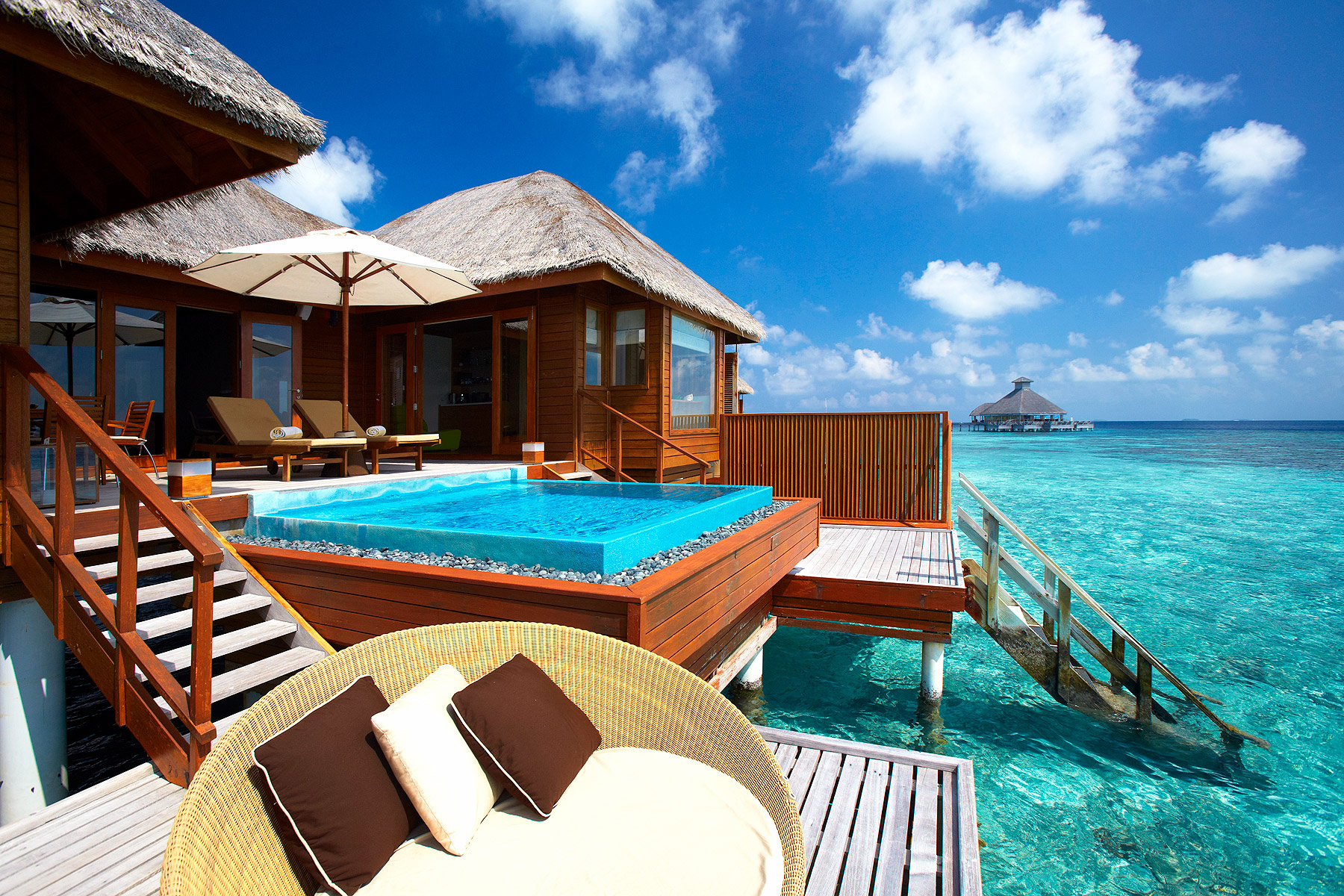 A Dream Destination: Floating On Heaven At Huvafen Fushi