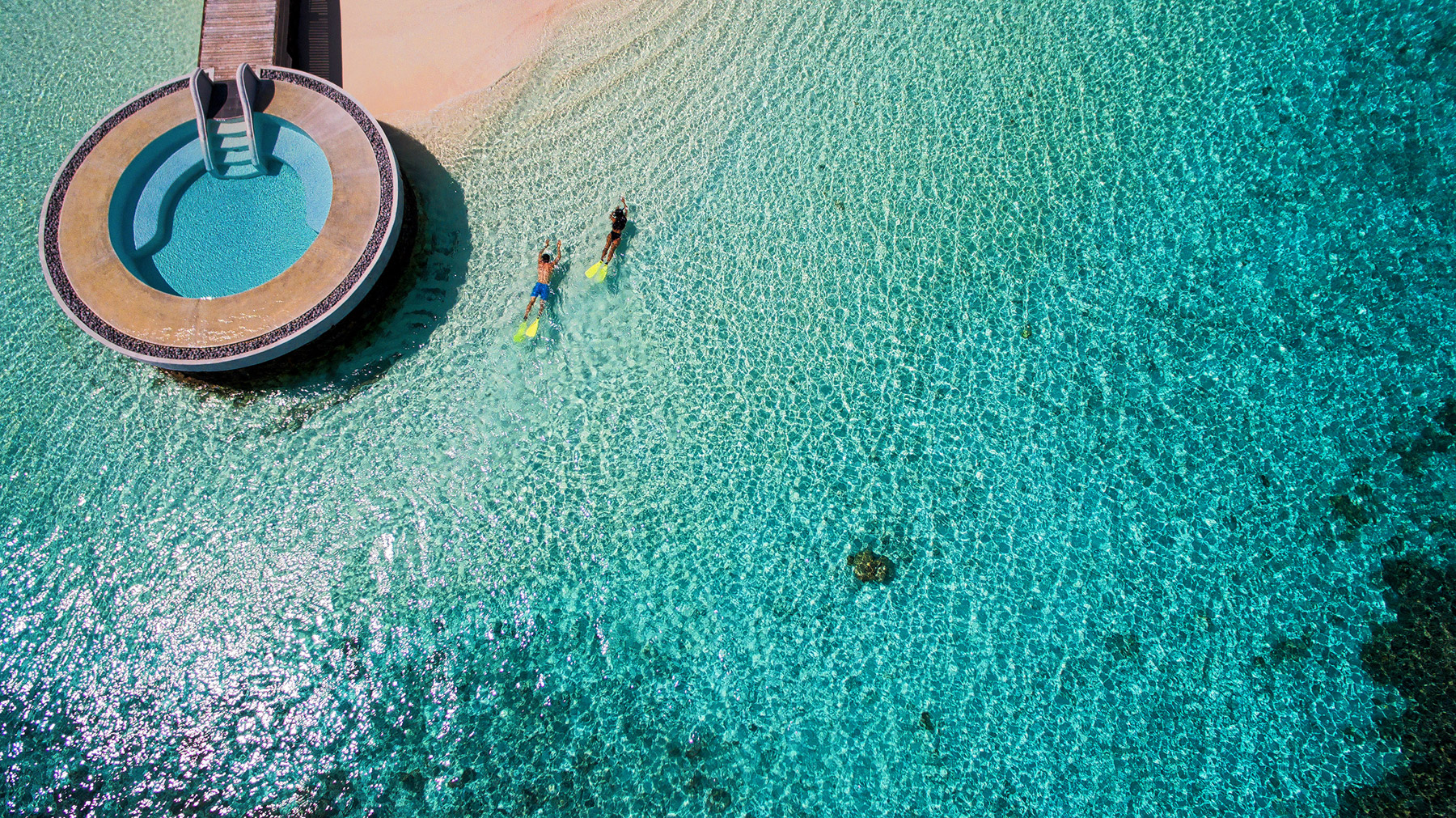 A Dream Destination: Floating On Heaven At Huvafen Fushi 10