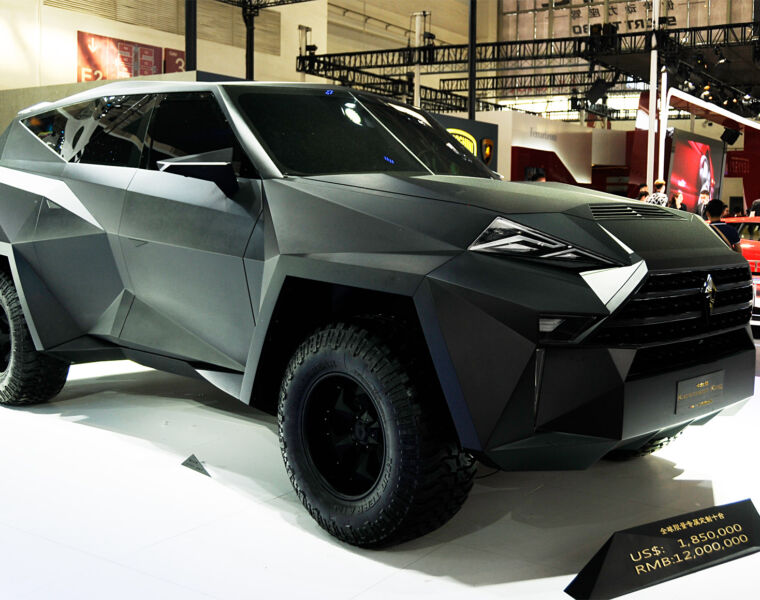 $1.8 million dollars is a lot of money for a car, does the 6-meter IAT Kalman SUV crammed with luxury justify the hefty price?