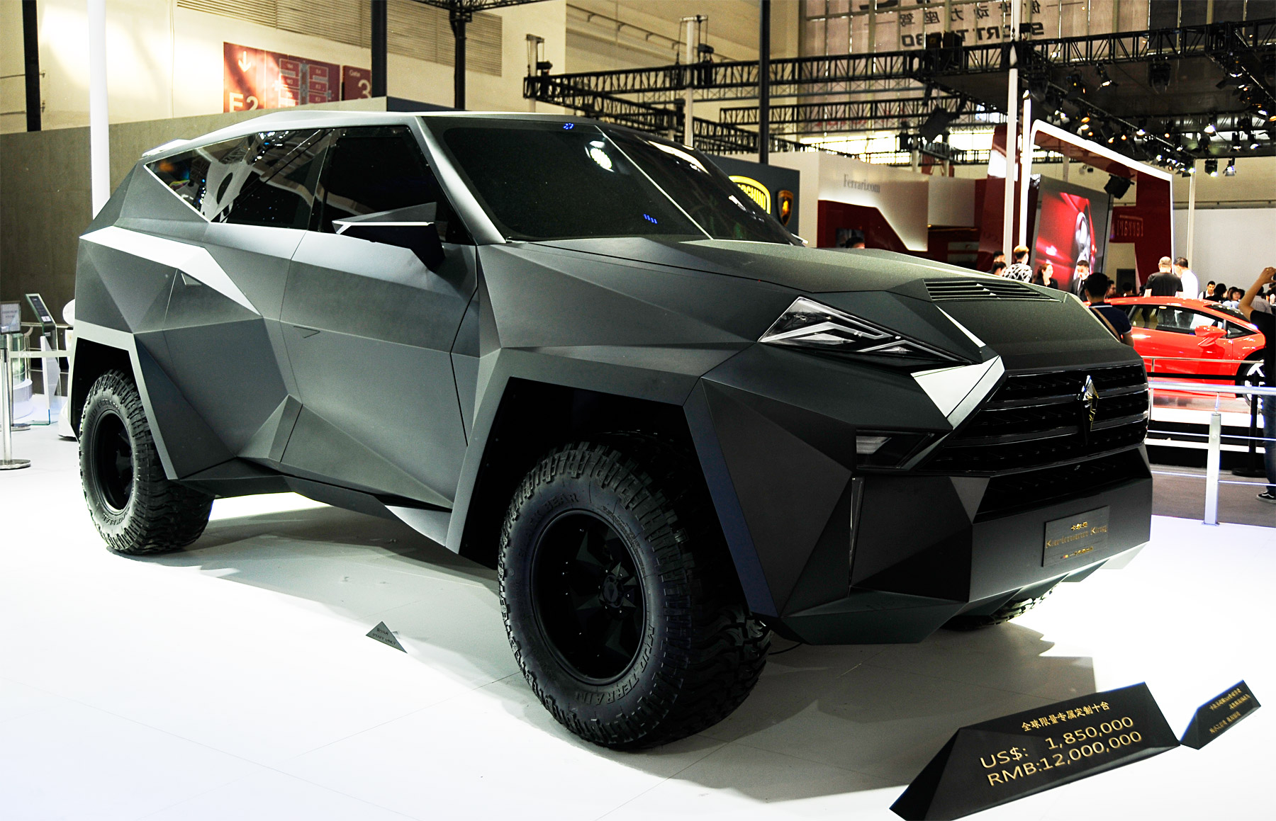 China Gets Into Stealth Mode With The IAT Karlmann King SUV